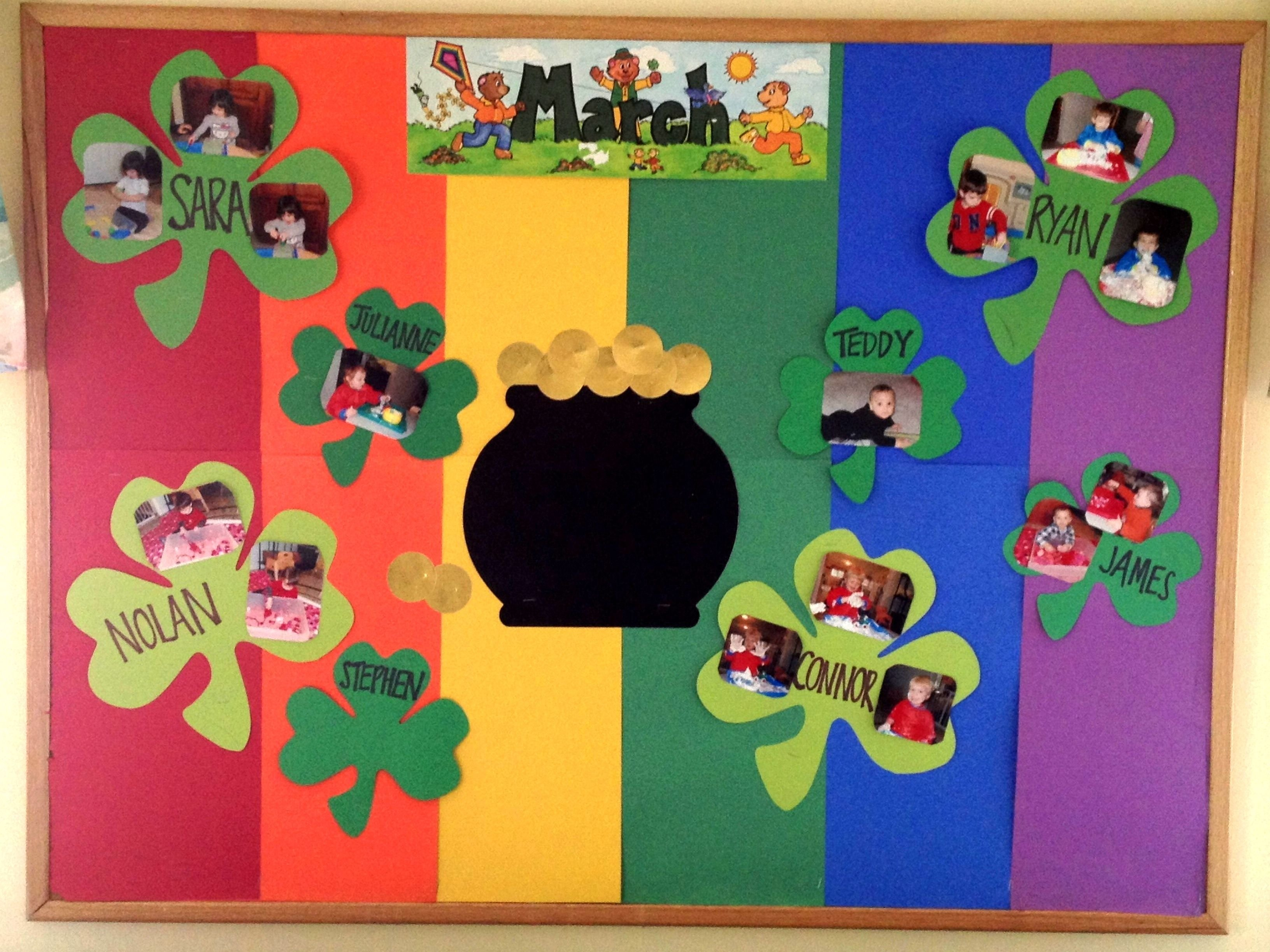 march bulletin board | joey's class | pinterest | bulletin board