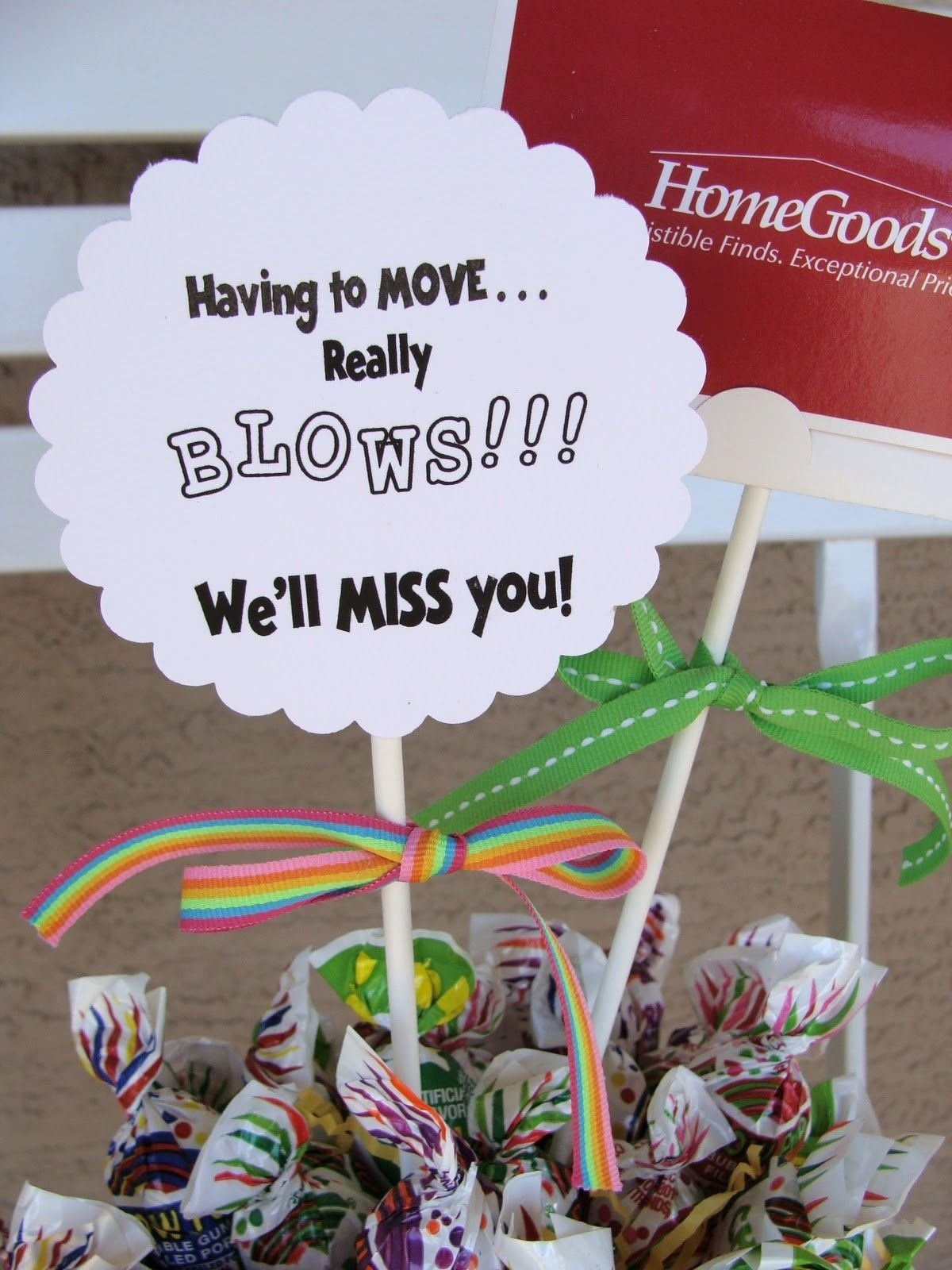 10 Awesome Ideas For A Going Away Party marci coombs going away gift idea party ideas pinterest gift 1 2020