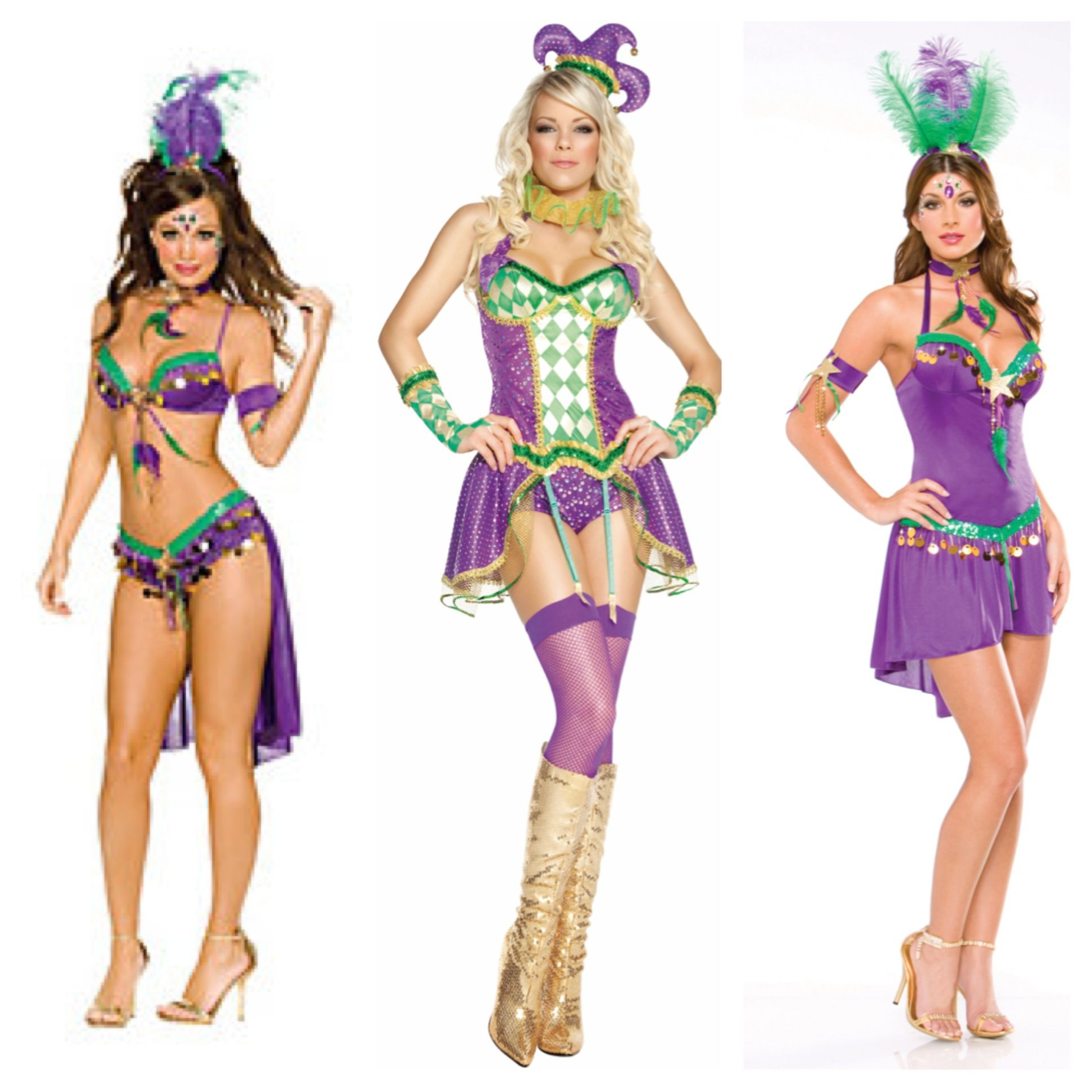 10 Fashionable Mardi Gras Costume Ideas For Women mardi gras costumes like the idea of a belt with charms and maybe