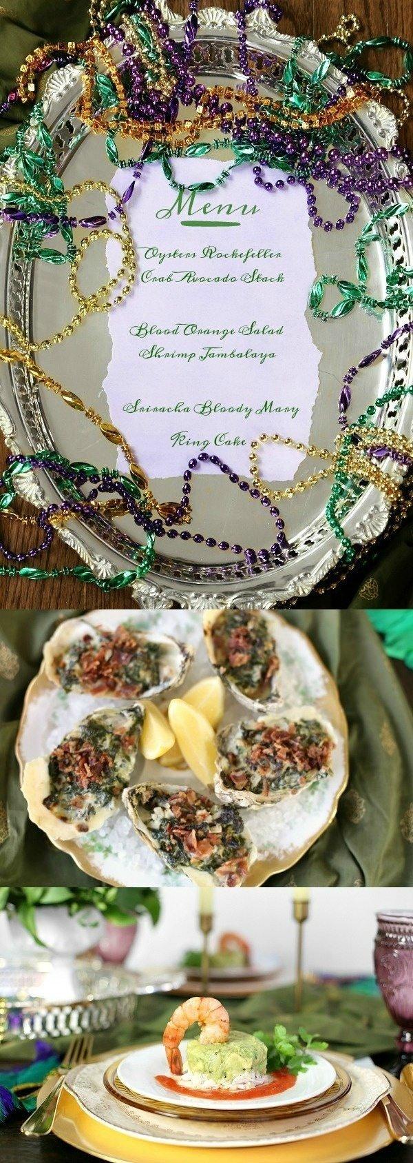 10 Stylish Mardi Gras Party Food Ideas mardi gras inspired dinner party menu recipe girl 2021