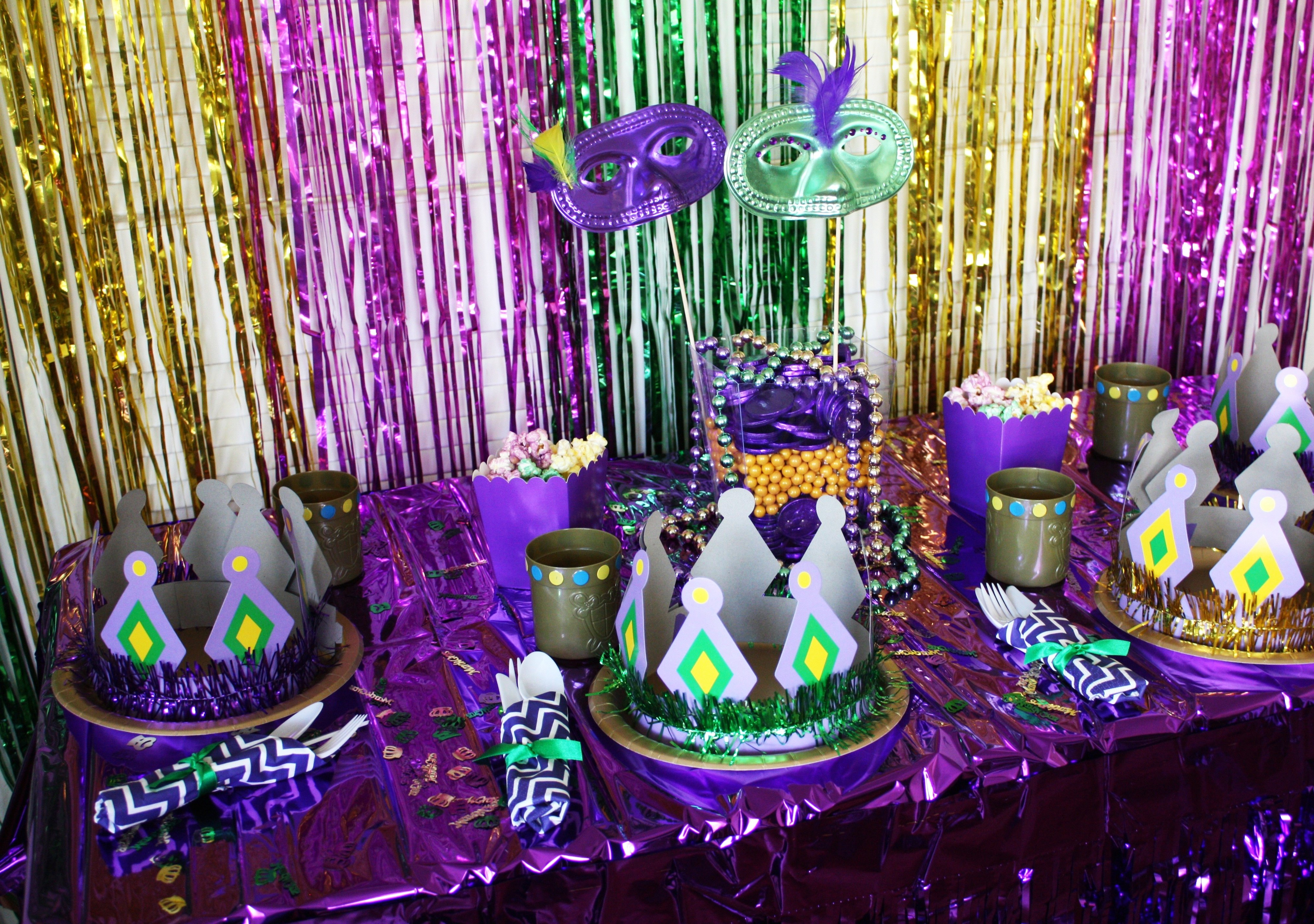 mardi gras party game ideas - wedding