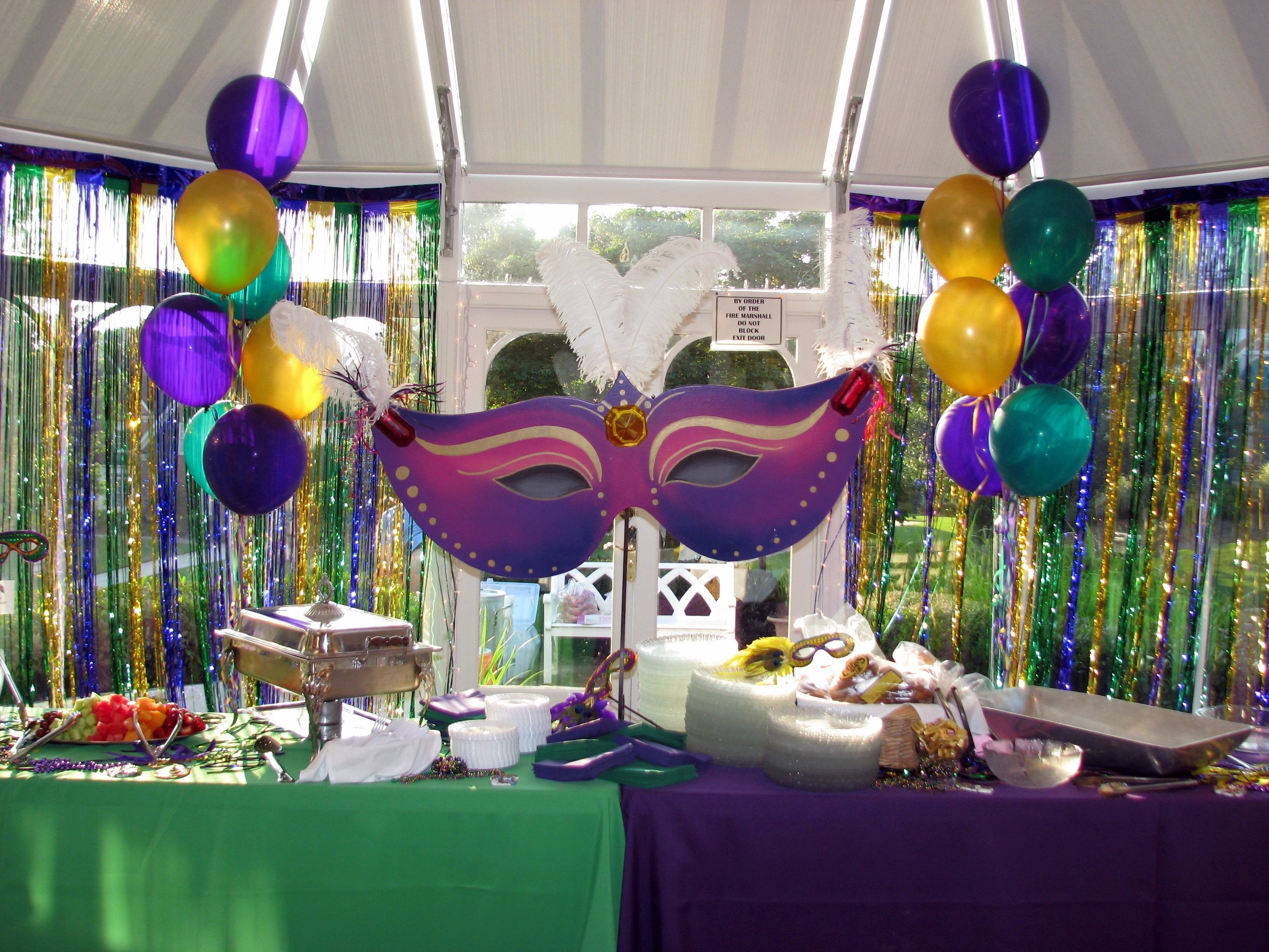 10 Most Recommended Mardi Gras Ideas For A Party mardi gras party recipes ideas mardi gras themed 40th surprise 2020