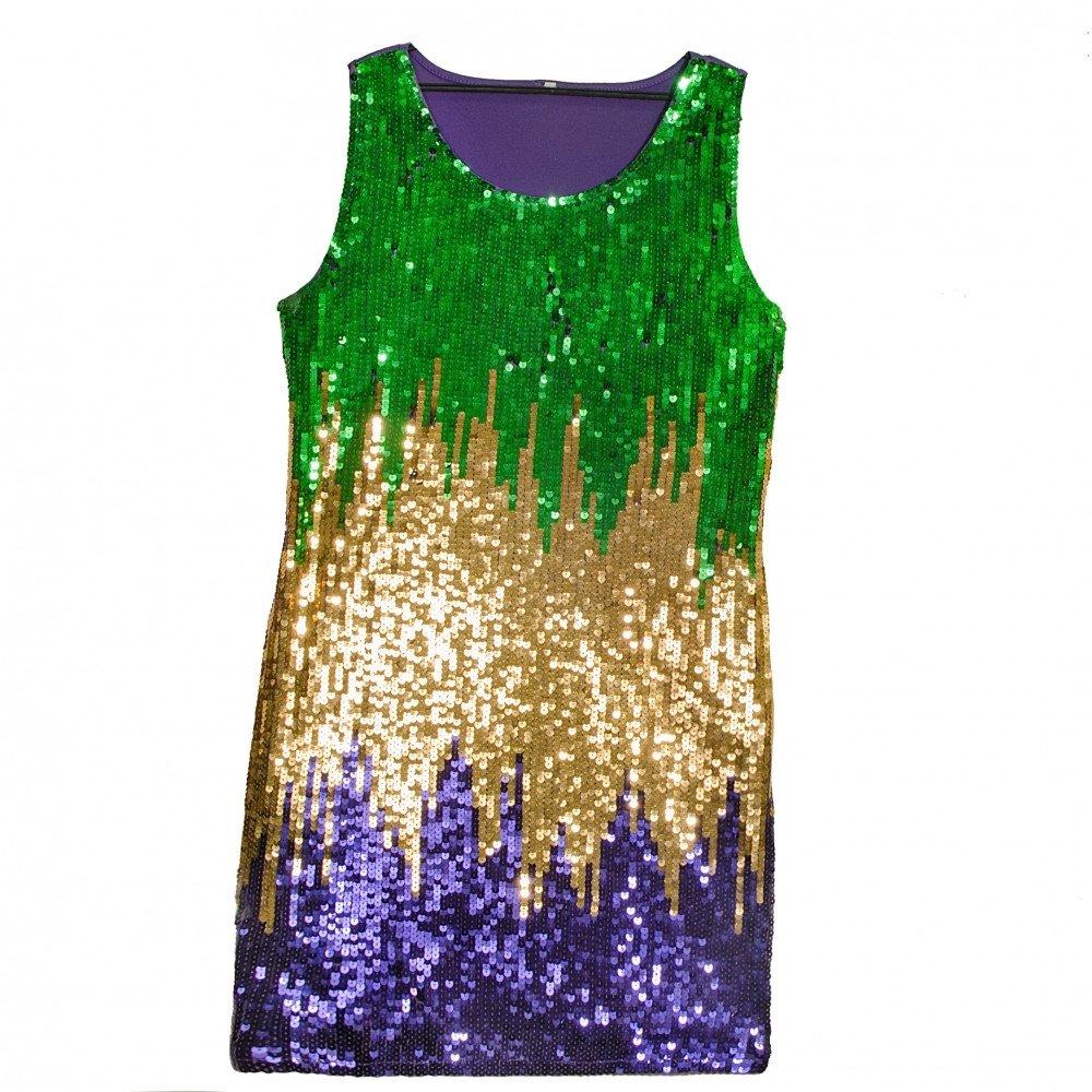 10 Great Mardi Gras Party Outfit Ideas mardi gras sequin party dress large mardigrasoutlet 2020