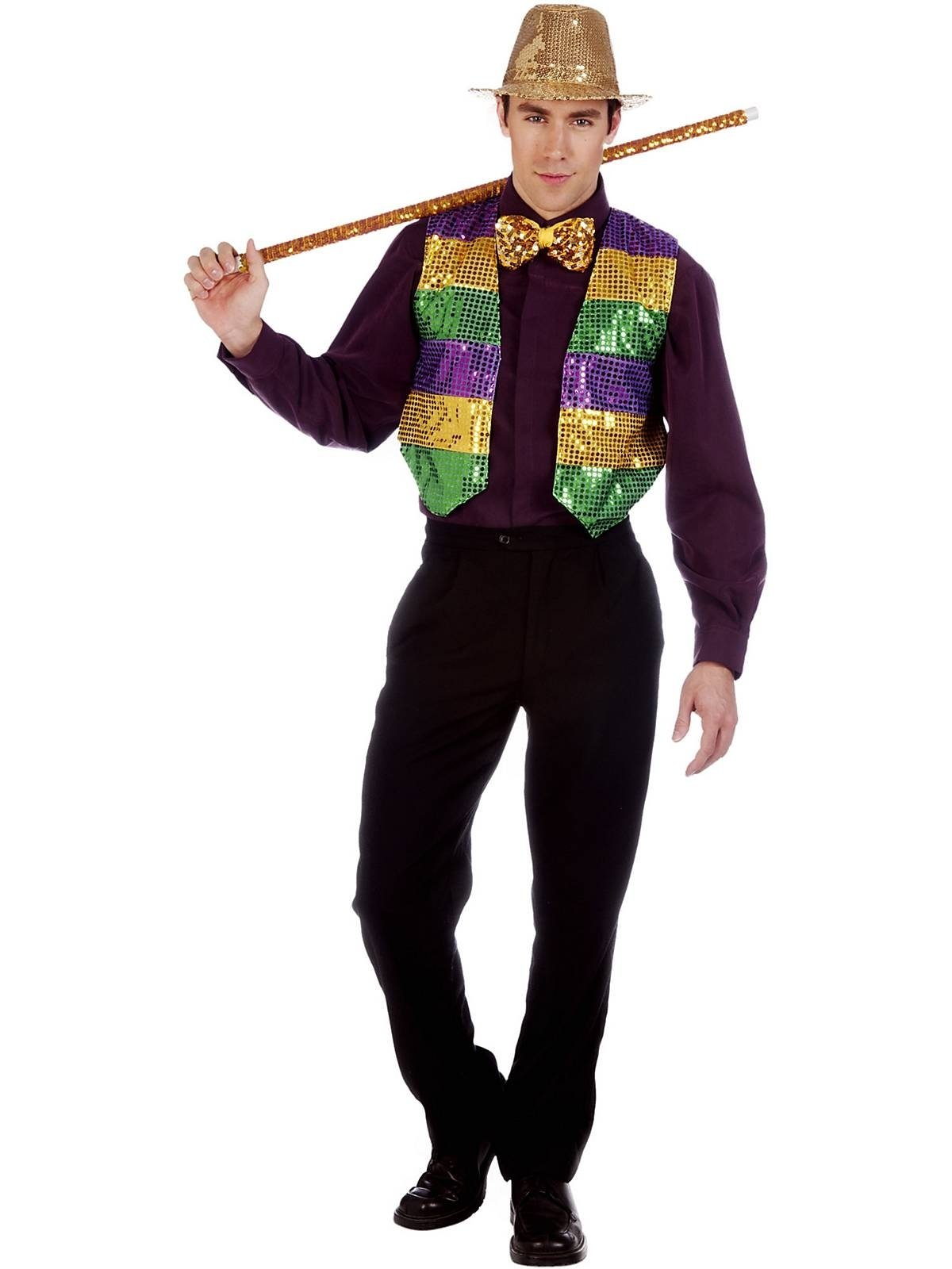 10 Awesome Mardi Gras Dress Up Ideas mardi gras vest costume mardi gras sequins and costumes 1 2020