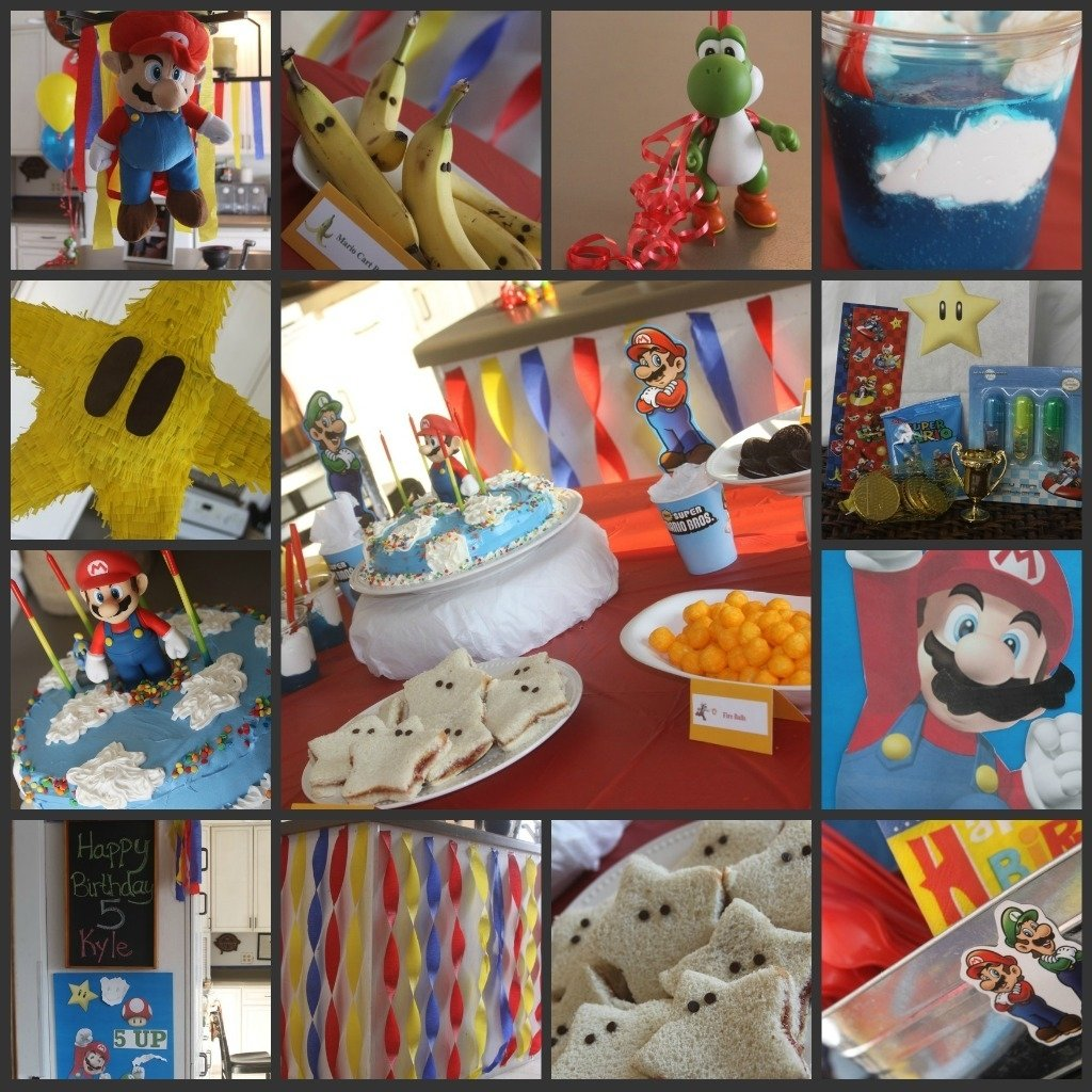 10 Spectacular Mario Brothers Birthday Party Ideas mario birthday party complete with mario themed food and games a 1 2020