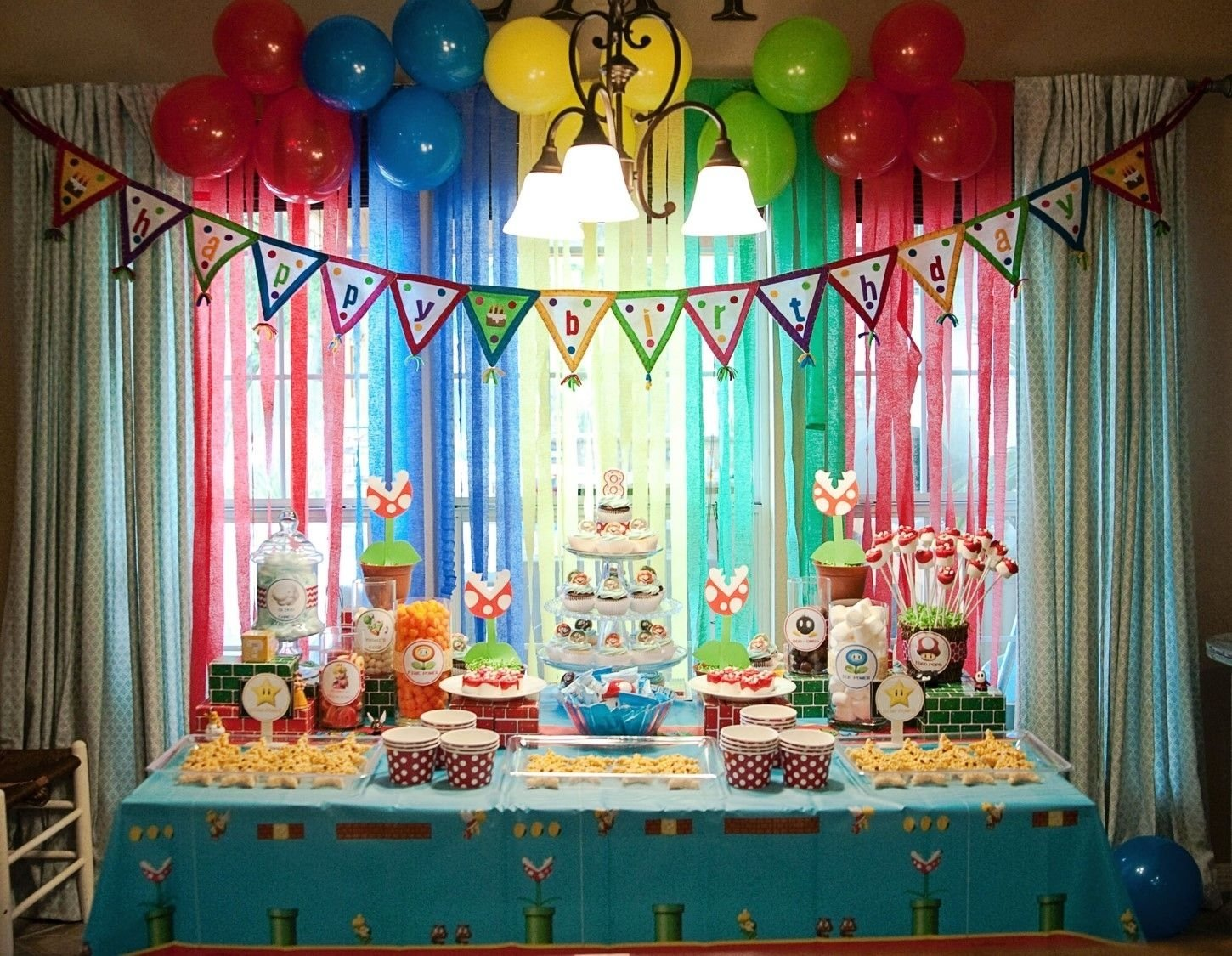10 Fabulous Super Mario Brothers Birthday Party Ideas mario birthday party google search birthday party ideas 2020