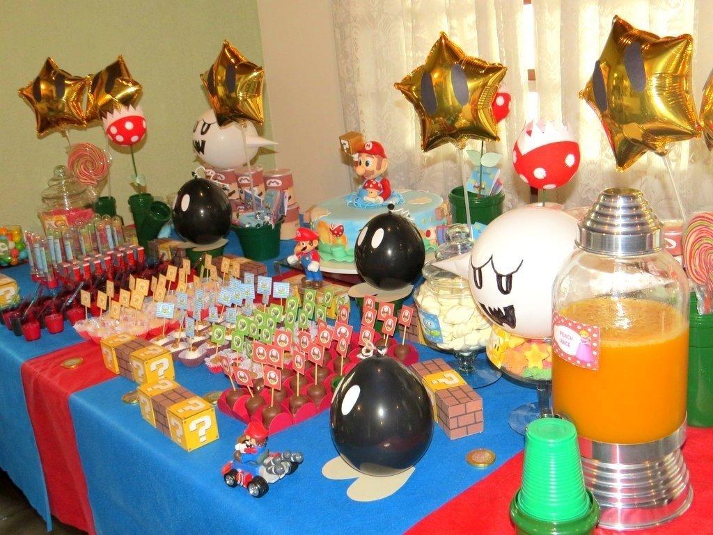 10 Famous Super Mario Bros Party Ideas mario bros kids party sweet table party birthday ideas 2021
