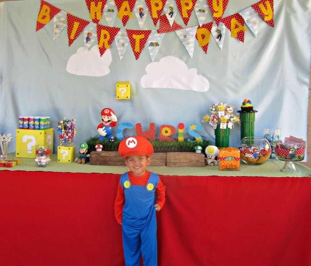 mario bros party birthday party ideas | photo 4 of 8 | catch my party