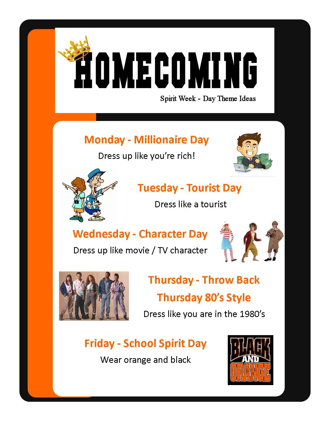 10 Spectacular High School Homecoming Week Ideas marissa cusd 40