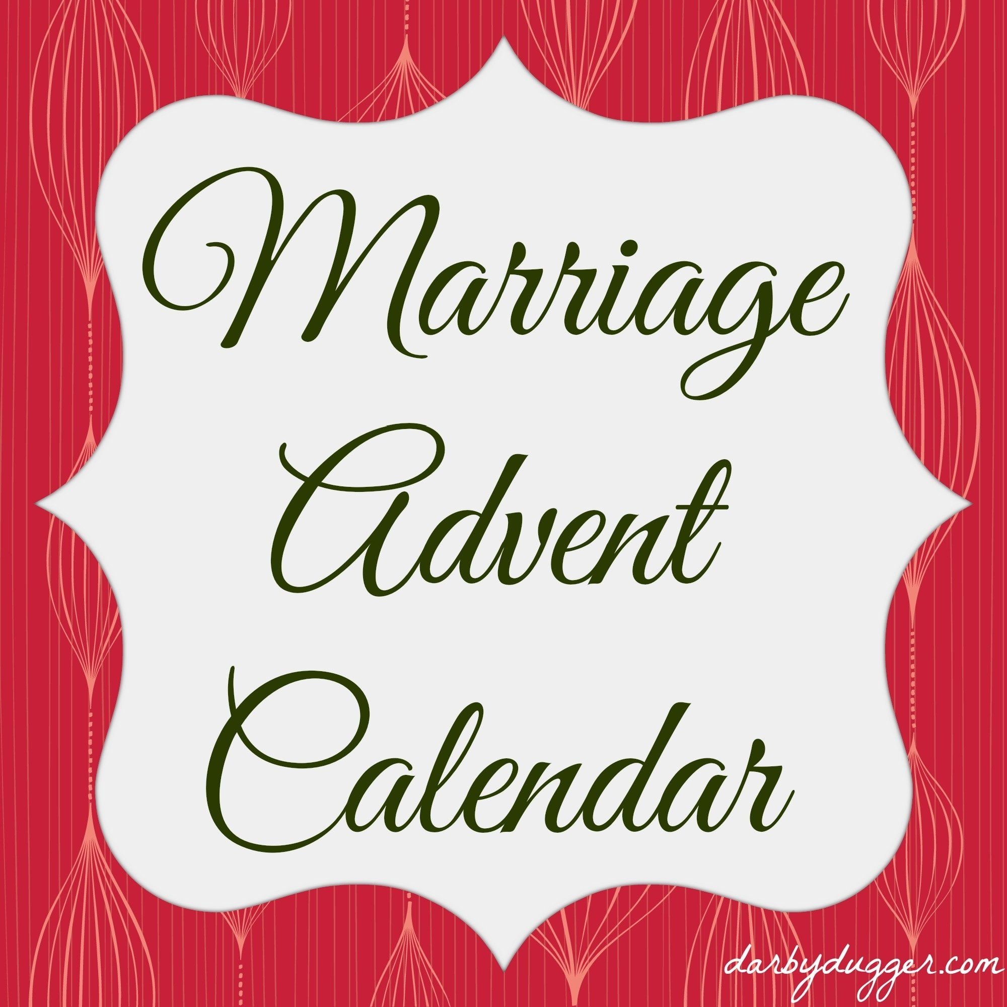 10 Trendy Ideas For Advent Calendar Gifts marriage advent calendardarby dugger