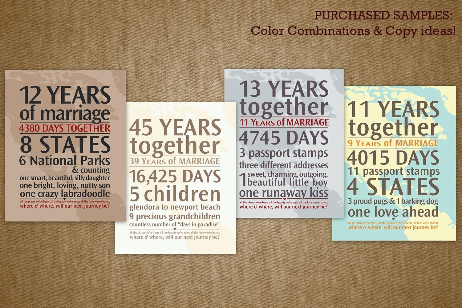 Results for 20 Year Wedding Anniversary Gift Ideas For Couple