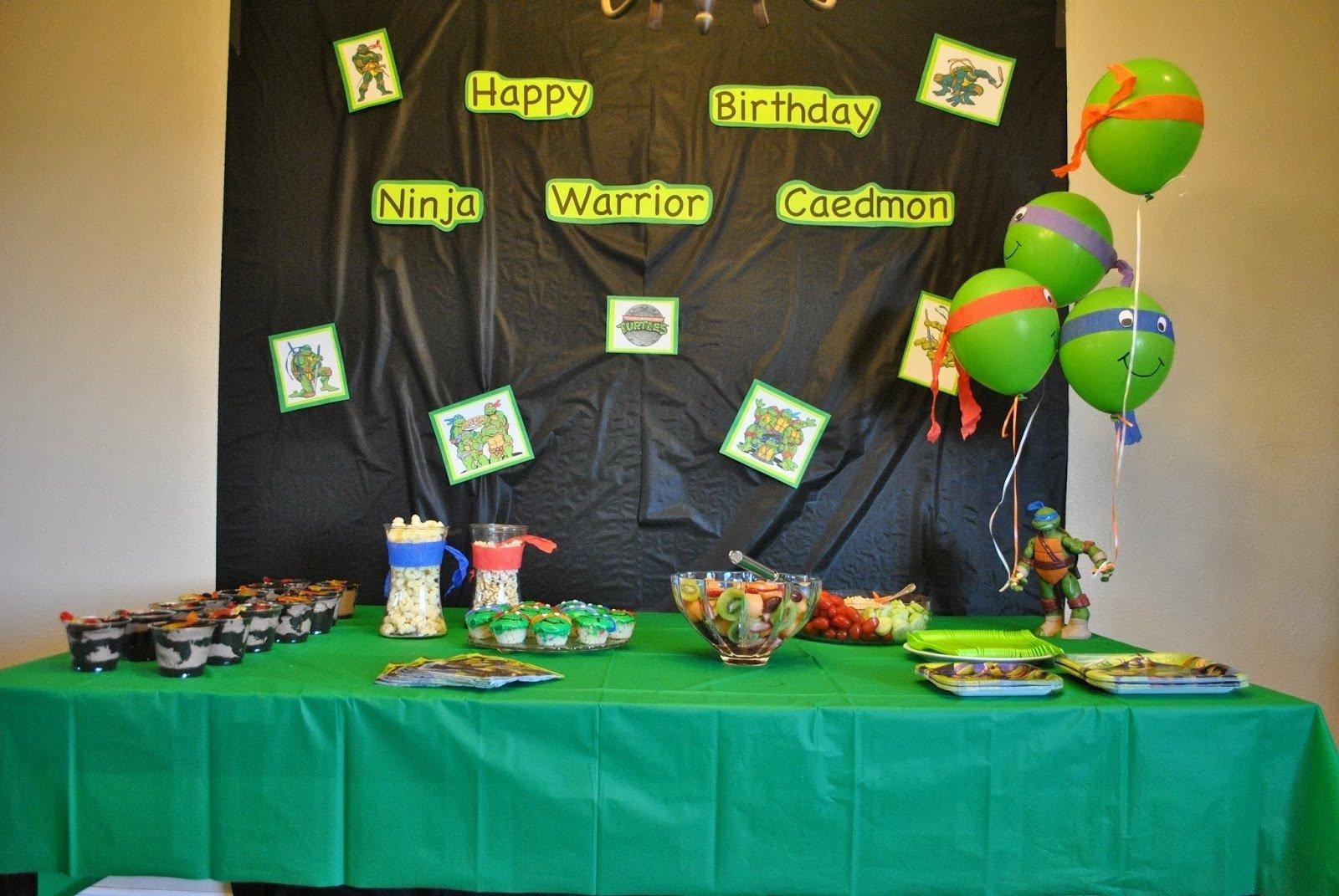 10 Best Ninja Turtle Party Decoration Ideas marriage motherhood and ministry a teenage mutant ninja turtle 1 2020