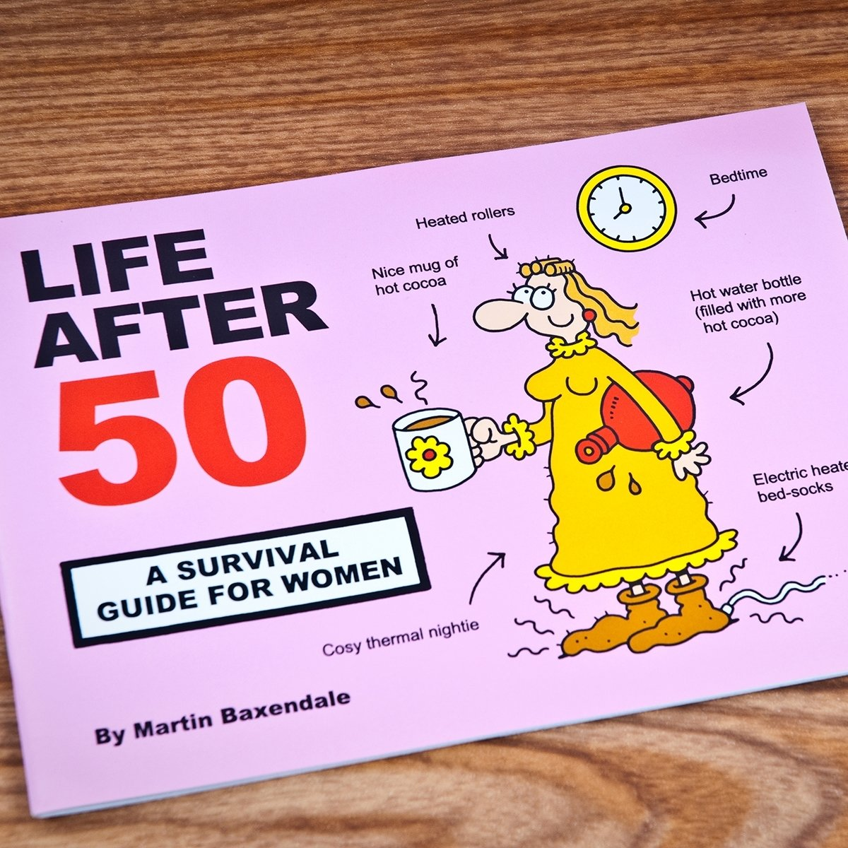 10 Nice Gift Ideas 50Th Birthday Woman martin baxendale life after 50 survival guide for women 2020