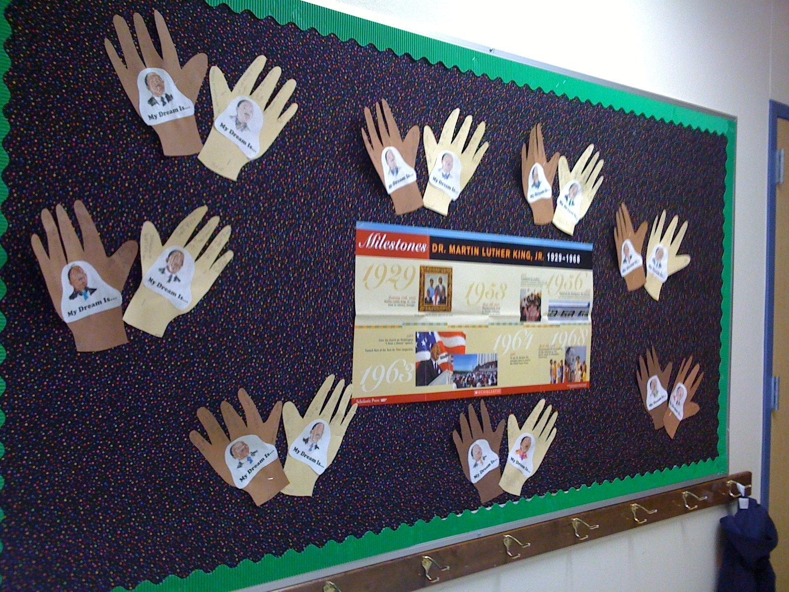 martin luther king bulletin boards