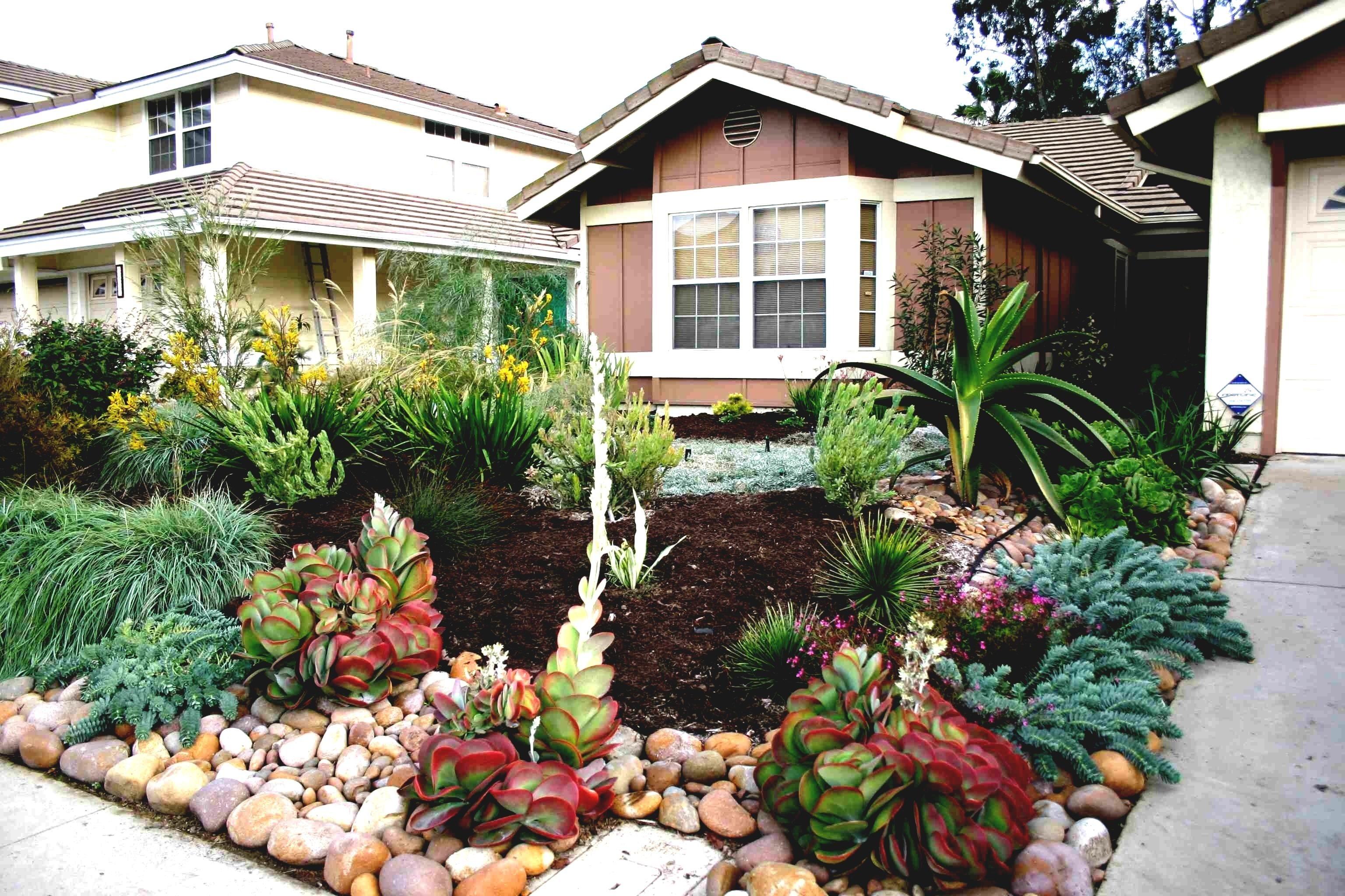 10 Stylish Ideas For Front Yard Landscaping Without Grass marvellous ideas for front yard landscaping without grass pics 2021