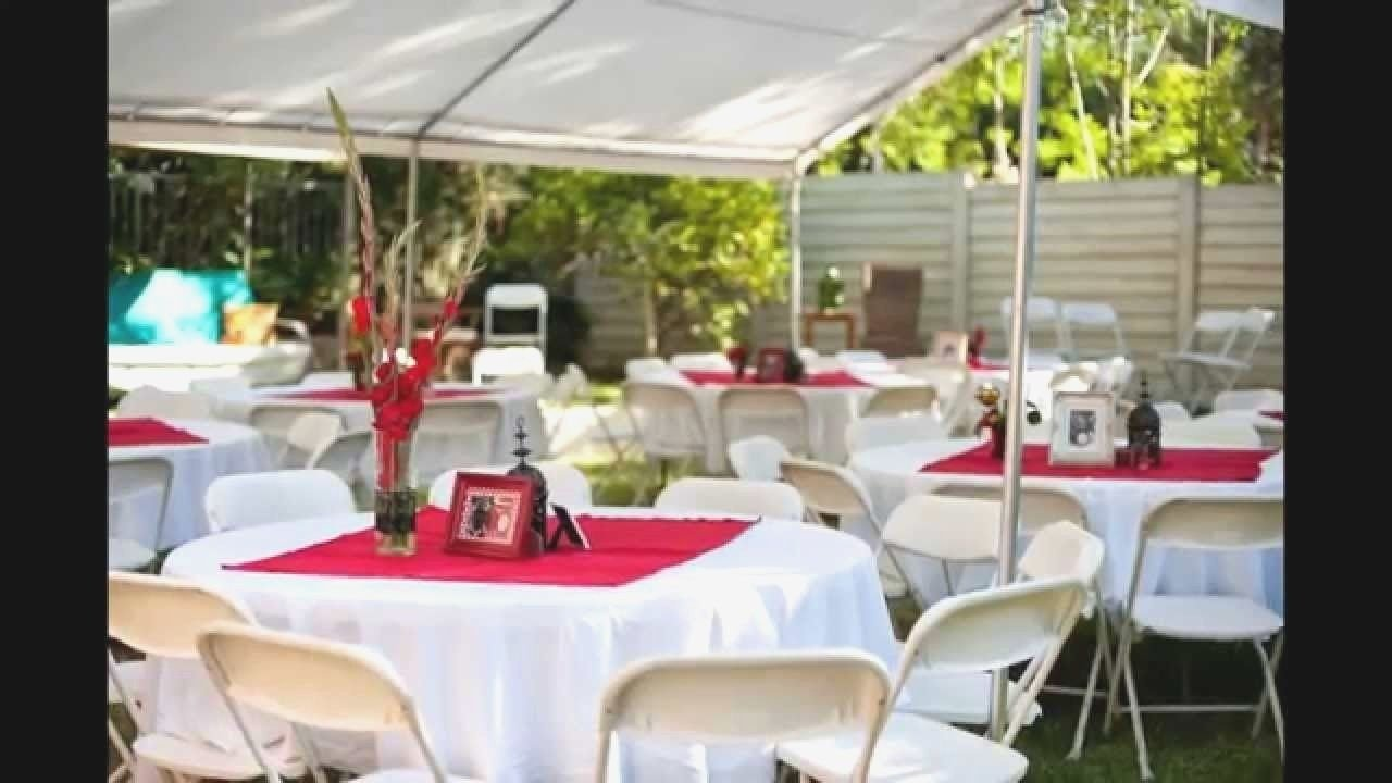 10 Unique Small Backyard Wedding Reception Ideas