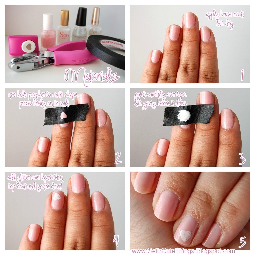 10 Fantastic Nail Art Ideas Easy Step By Step marvelous sellzcutethings how to get perfect shapes on your update 2021