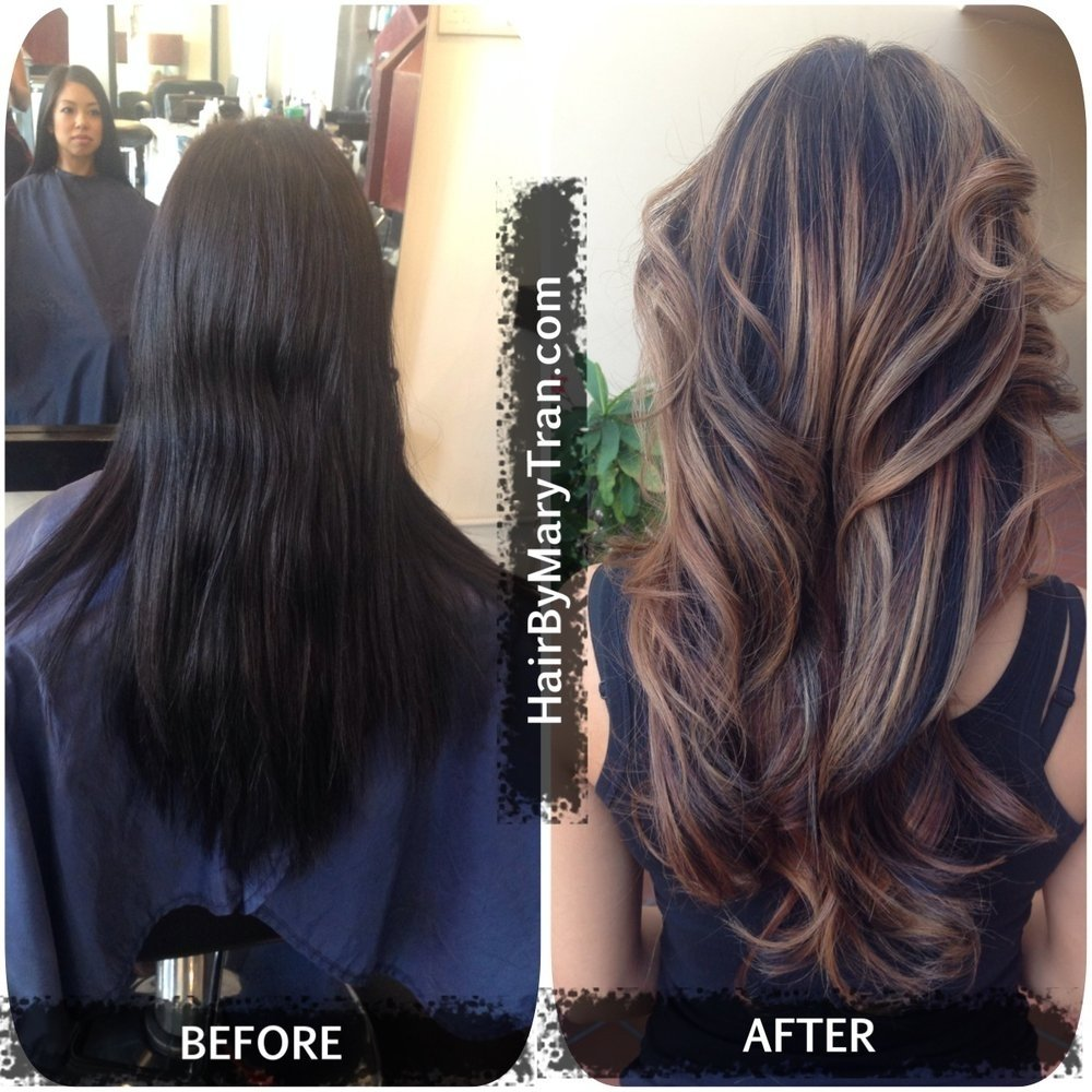 10 Pretty Black Hair With Highlights Ideas mary tran santa monica ca united states color correction 2020