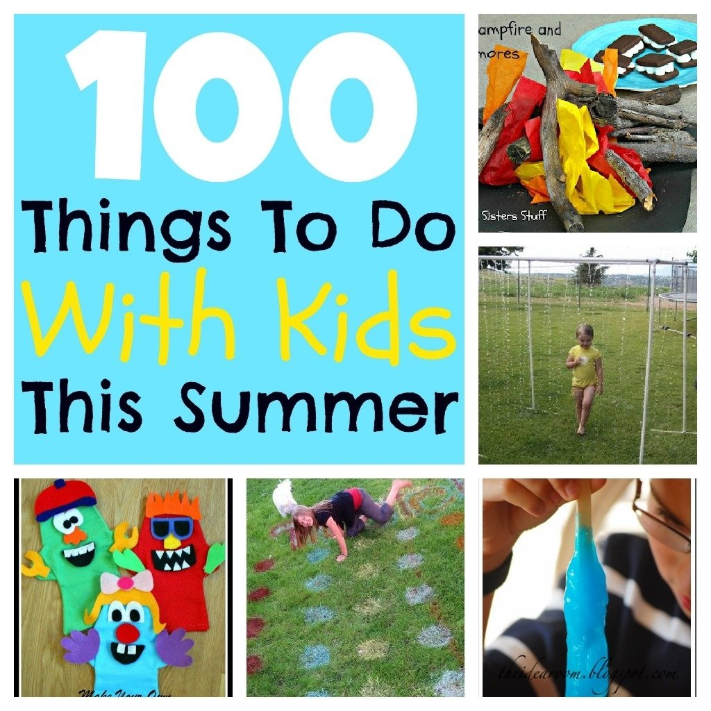 10 Beautiful Ideas To Do With Kids marybeth whalen 100 things to do with your kids this summer 2020