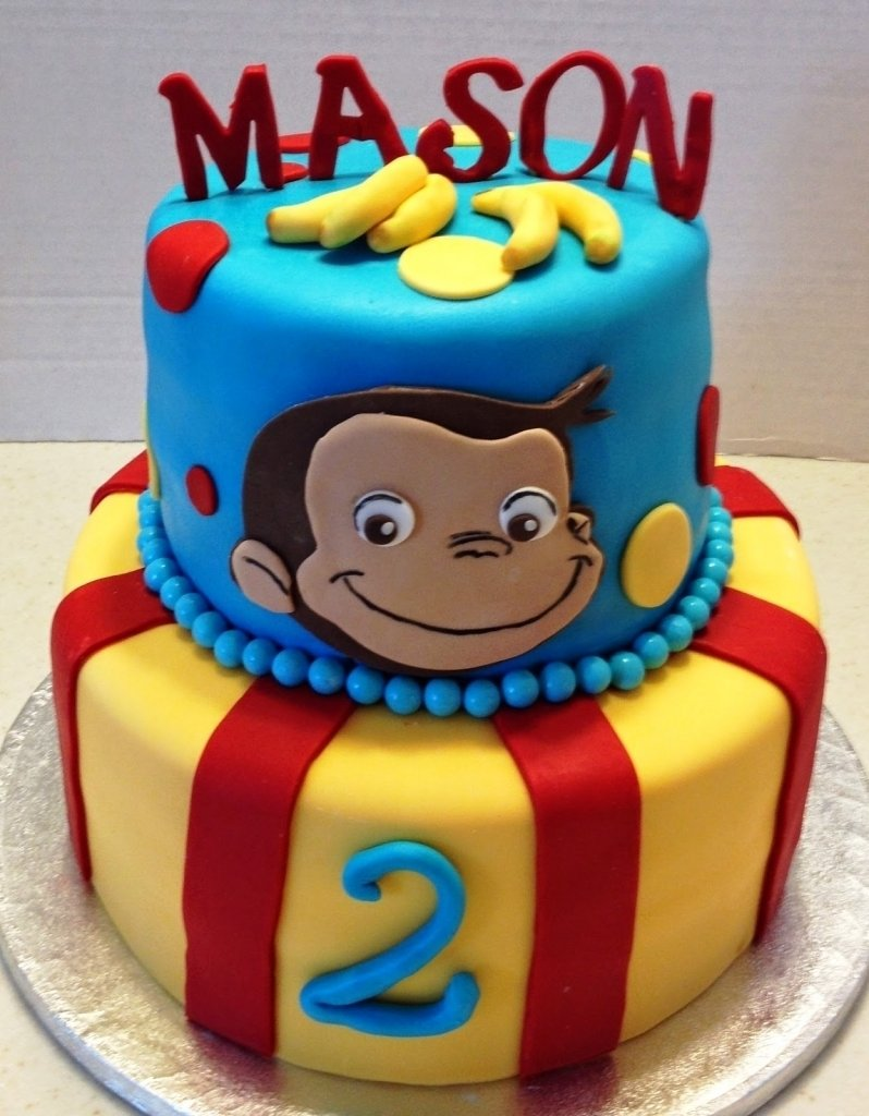 10 Famous Curious George Birthday Cake Ideas