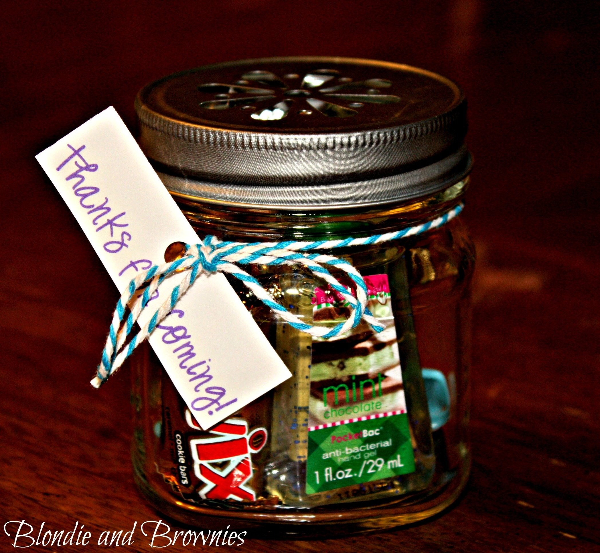 10 Most Popular Mason Jar Party Favor Ideas mason jar party favors blondie and brownies