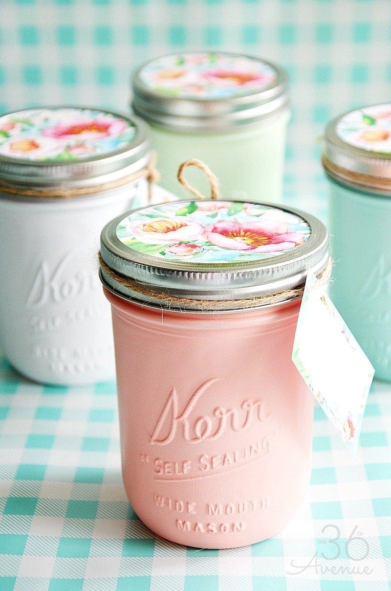 10 Fantastic Gift Ideas With Mason Jars mason jars handmade gift idea the 36th avenue 2 2020