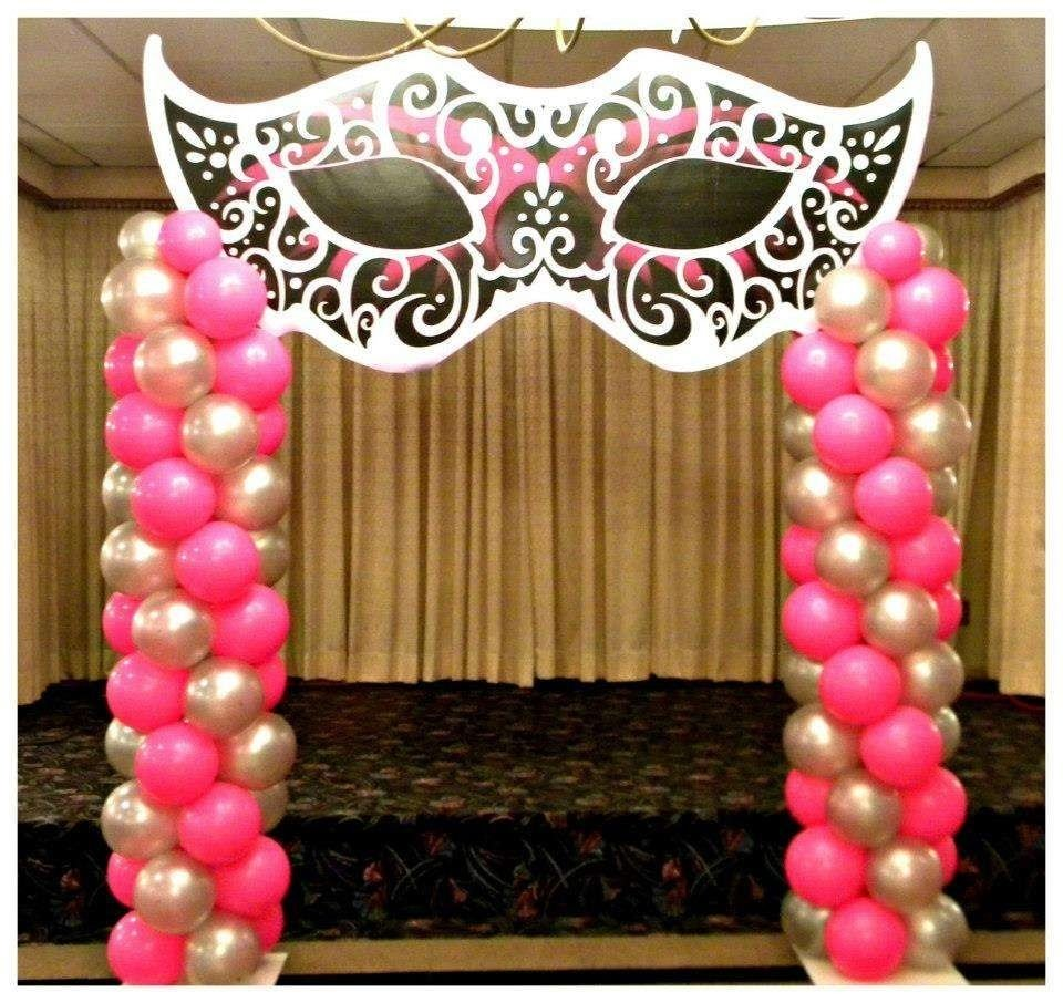masquerade sweet 16 quinceañera party ideas | déco