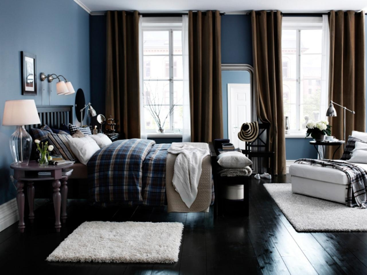 10 Fantastic Brown And Blue Bedroom Ideas %name 2021