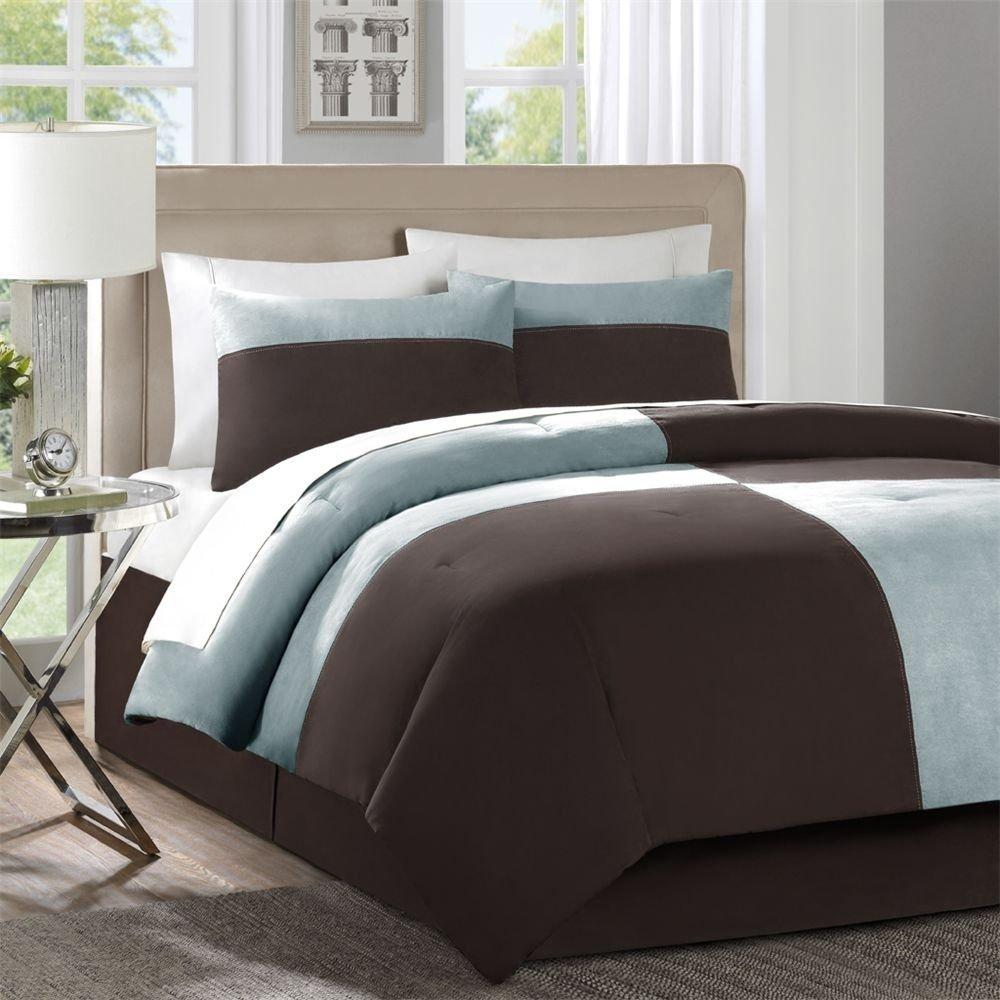 10 Elegant Blue And Brown Bedroom Ideas master bedroom decorating ideas blue and brown decobizz 1 2020