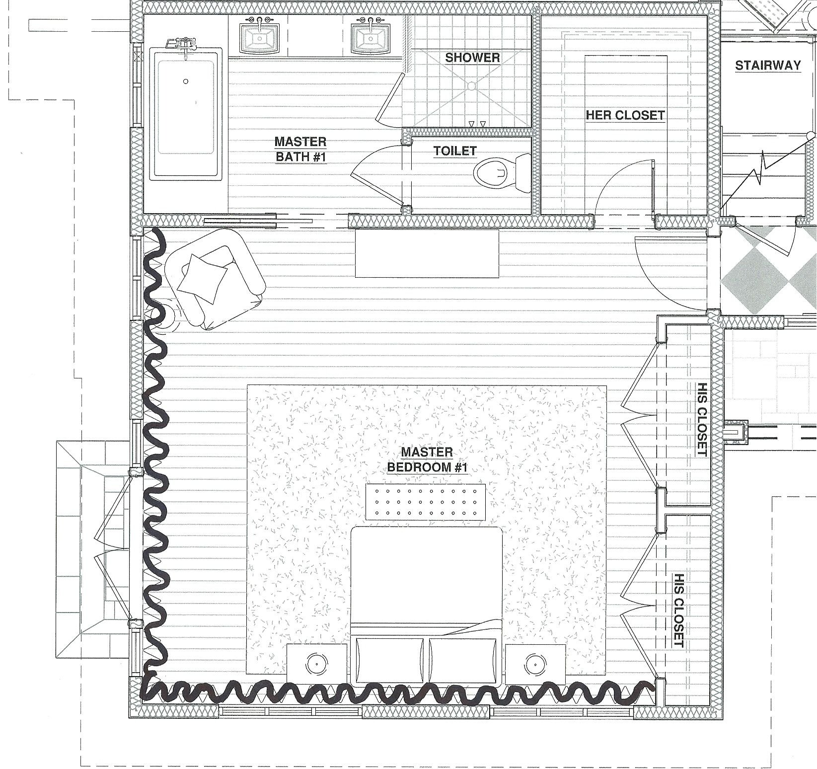 master bedroom floor plans | picture gallery of the master bedroom