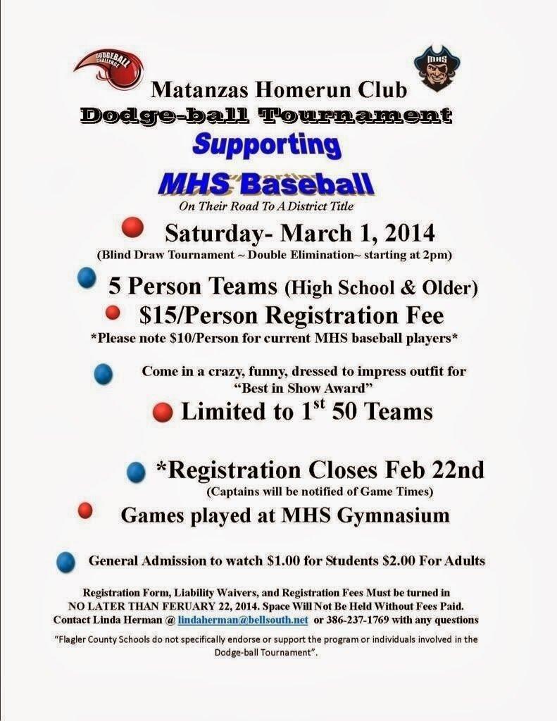 10 Trendy Fun Fundraising Ideas For High School matanzas dodgeball tournament in palm coast flagler county family 2020