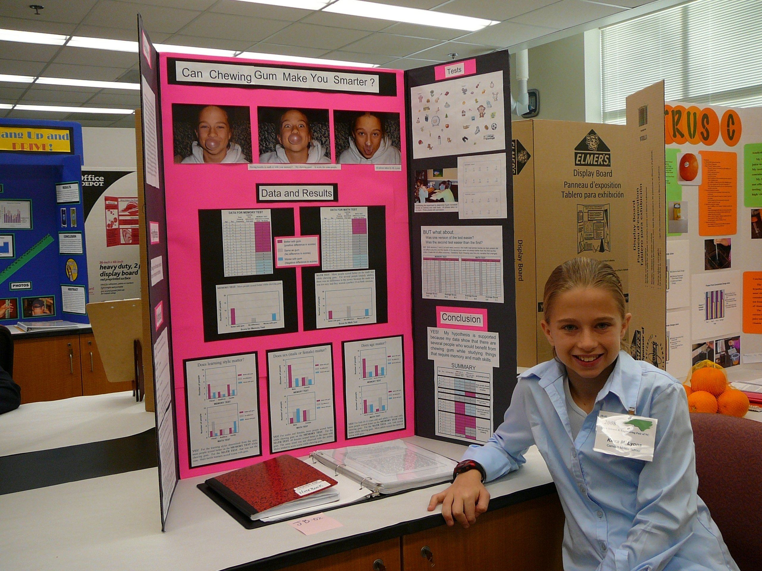 match the science fair project to the type of kid | science-fair
