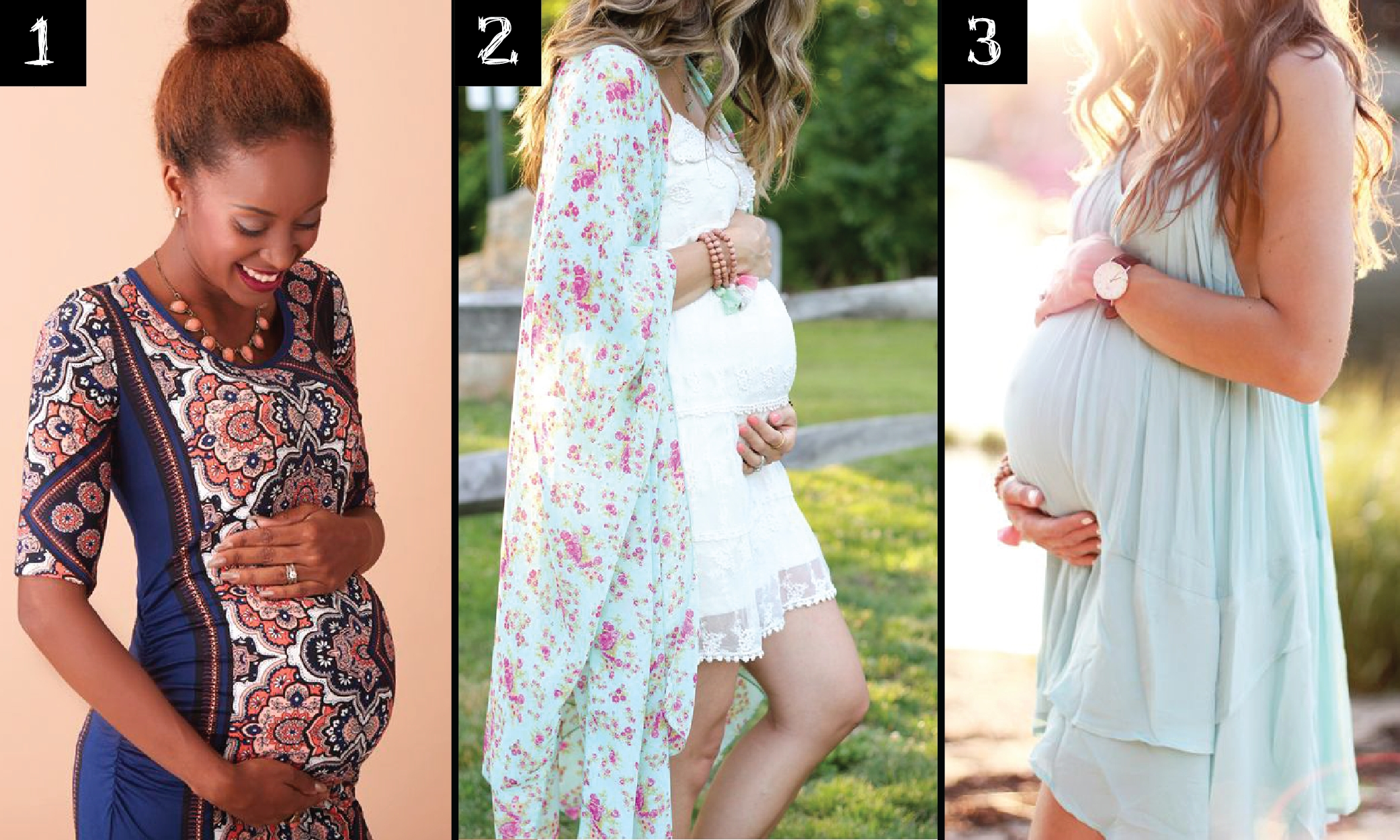 maternity photo outfit ideas. | noel photography and design