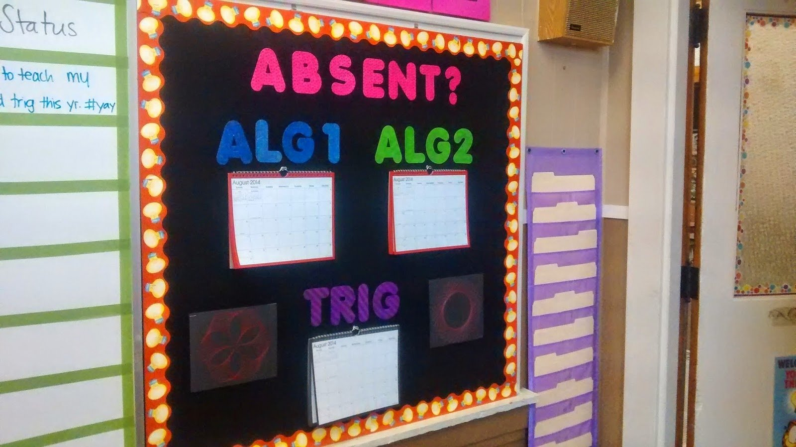 math = love: bulletin board ideas