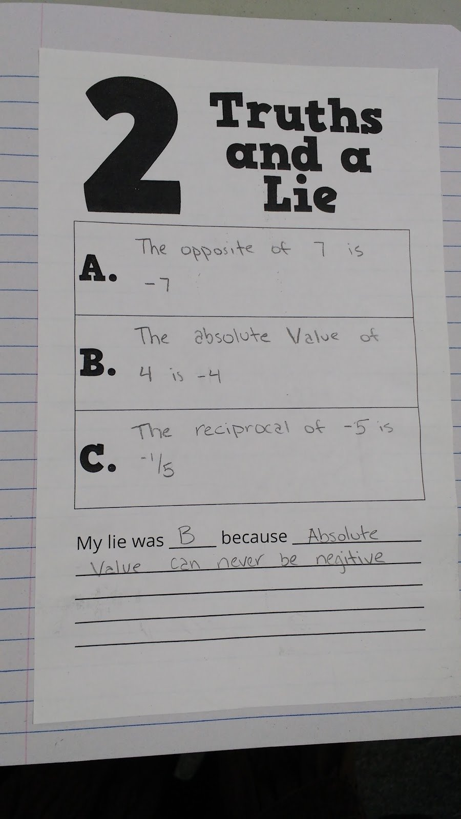 10 Stylish Two Truths And A Lie Ideas math love two truths and a lie activity template 2021