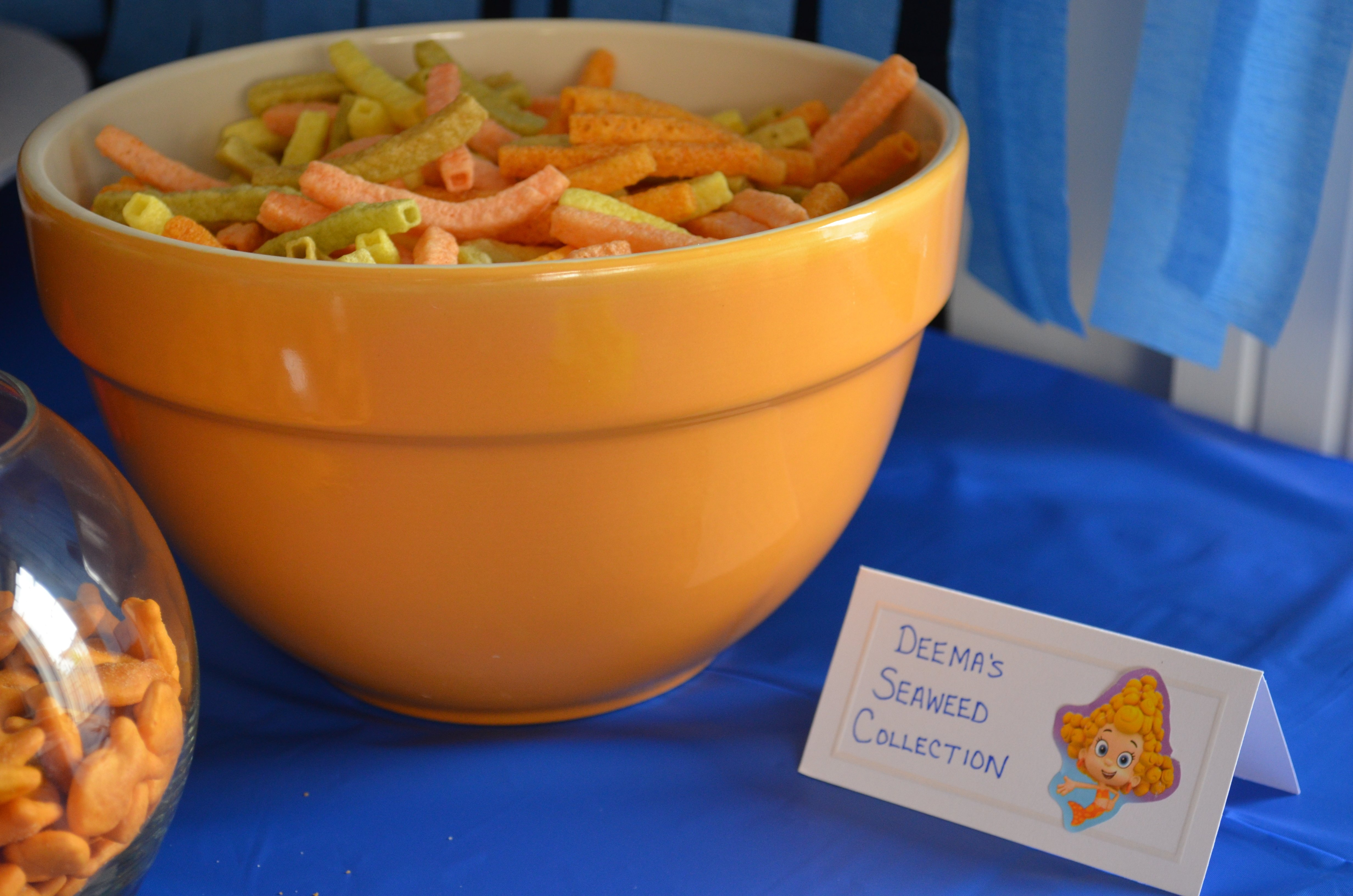 10 Gorgeous Bubble Guppies Party Food Ideas maxtons bubble guppies party mamas baby steps 1 2020