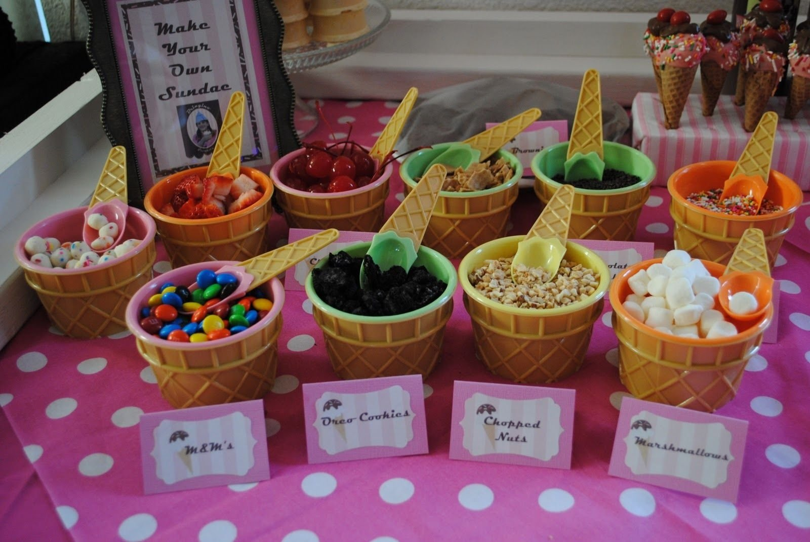 meagan's how to: how to host an ice cream party | parties & showers