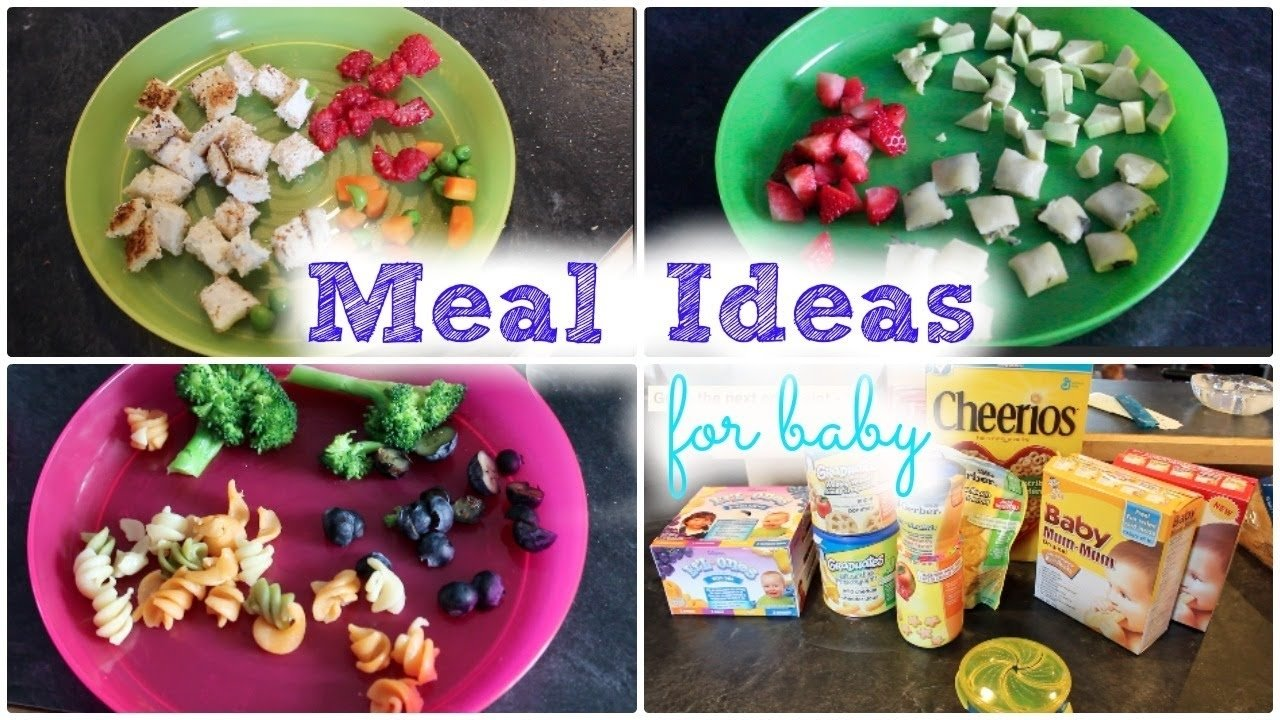 meal ideas for baby!    mickisamom - youtube