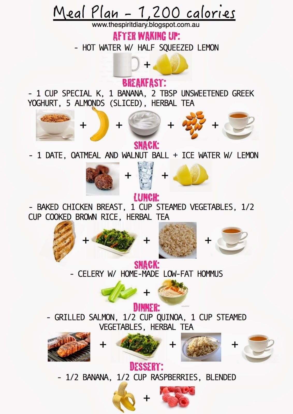 10 Unique 1200 Calorie Diet Menu Ideas meal plan 1200 calories summer the spirit diary 1200 2020