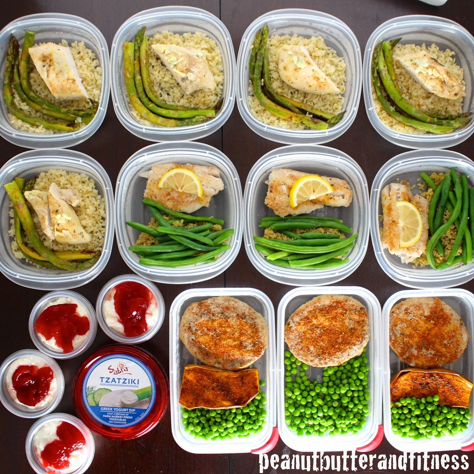 10 Unique Meal Ideas For The Week meal prep ideas week of february 2nd peanut butter and fitness