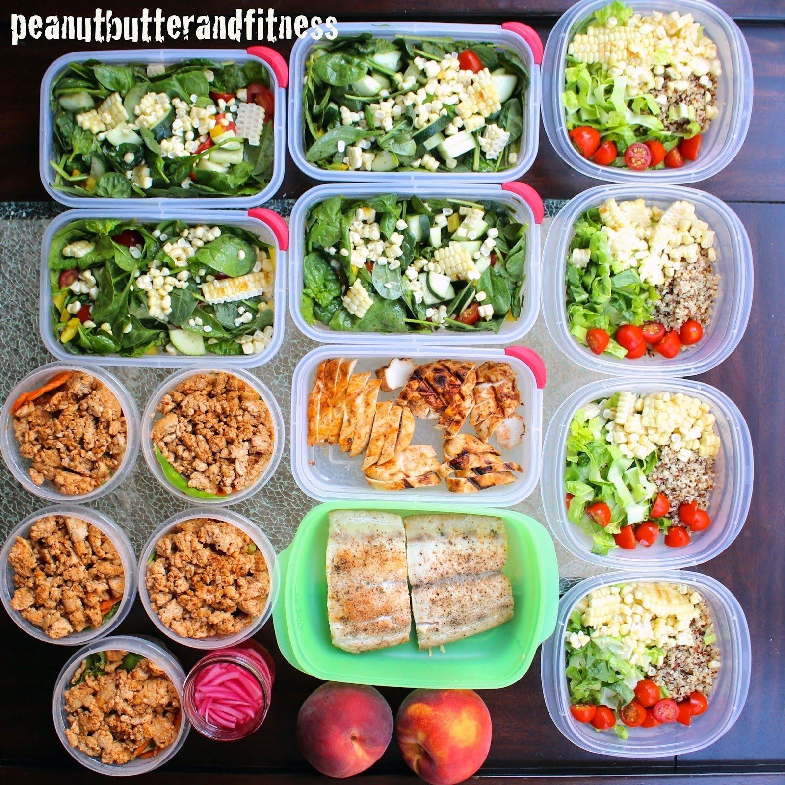 10 Unique Meal Ideas For The Week meal prep ideas week of september 7th peanut butter and fitness