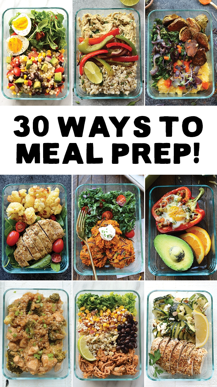 10 Amazing Healthy Lunch And Dinner Ideas meal prep your way in to 2017 with 30 different ways to meal prep 3