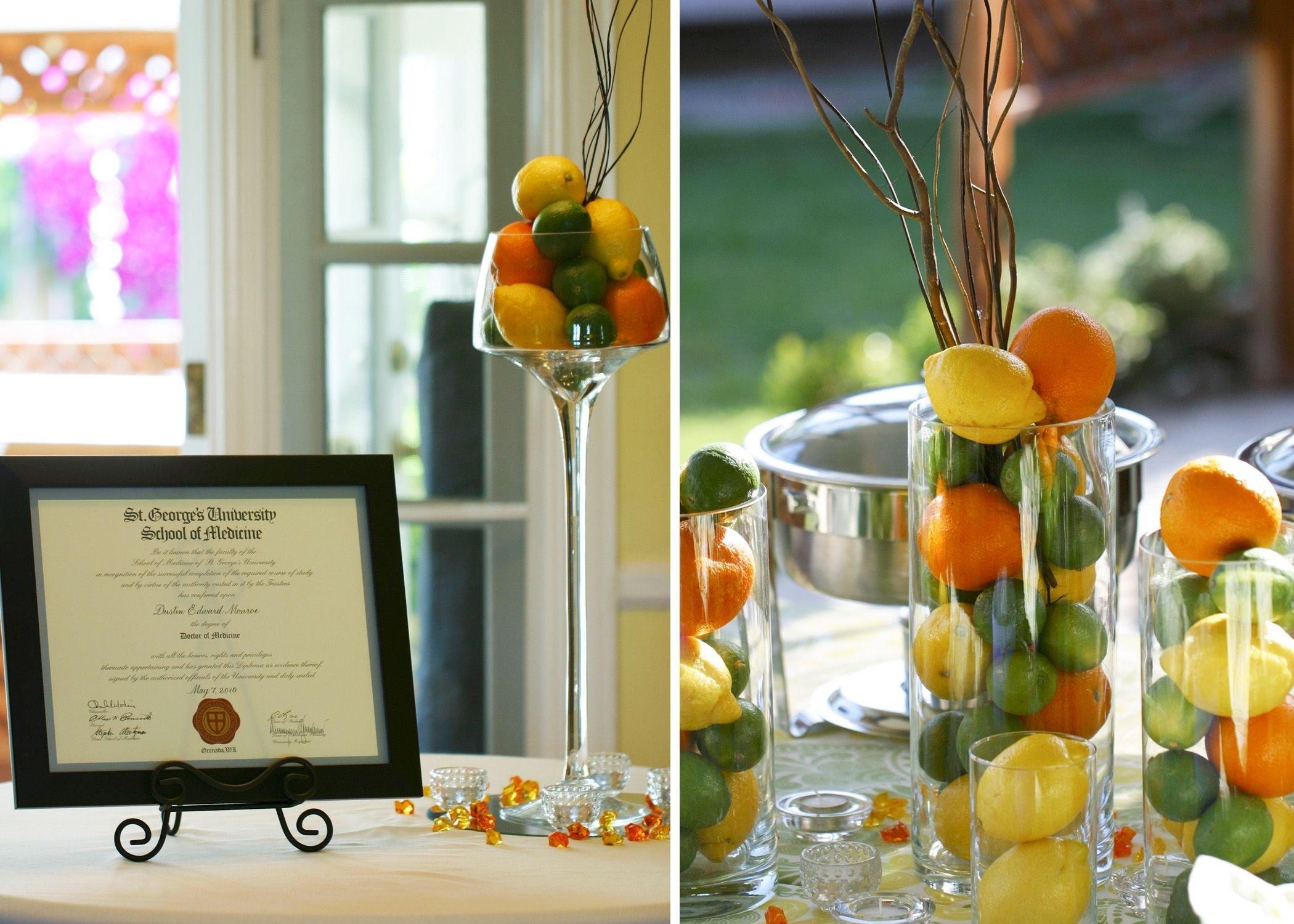 10 Cute Medical School Graduation Party Ideas medical school graduation party citrus inspired garden party 2020