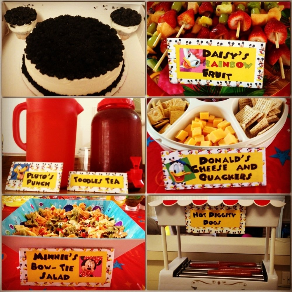 10 Ideal Mickey Mouse Birthday Party Food Ideas meeska mooska mickey mouse digging the hot dogs cheese and 3 2021