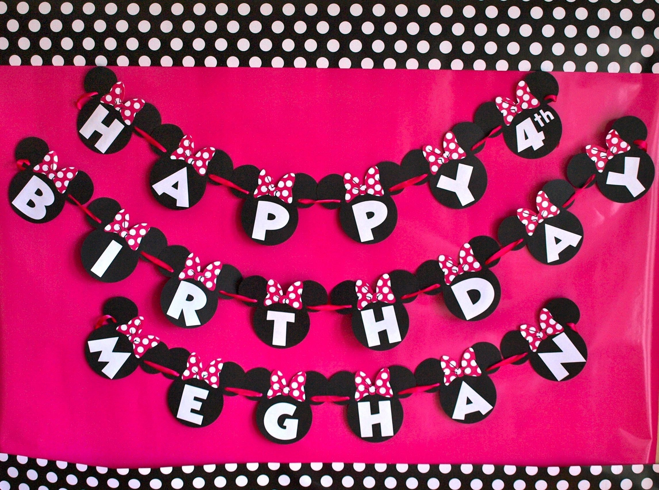 10 Wonderful Minnie Mouse Ideas For Birthday Party meghans minnie mouse 4th birthday party and other things that have 1