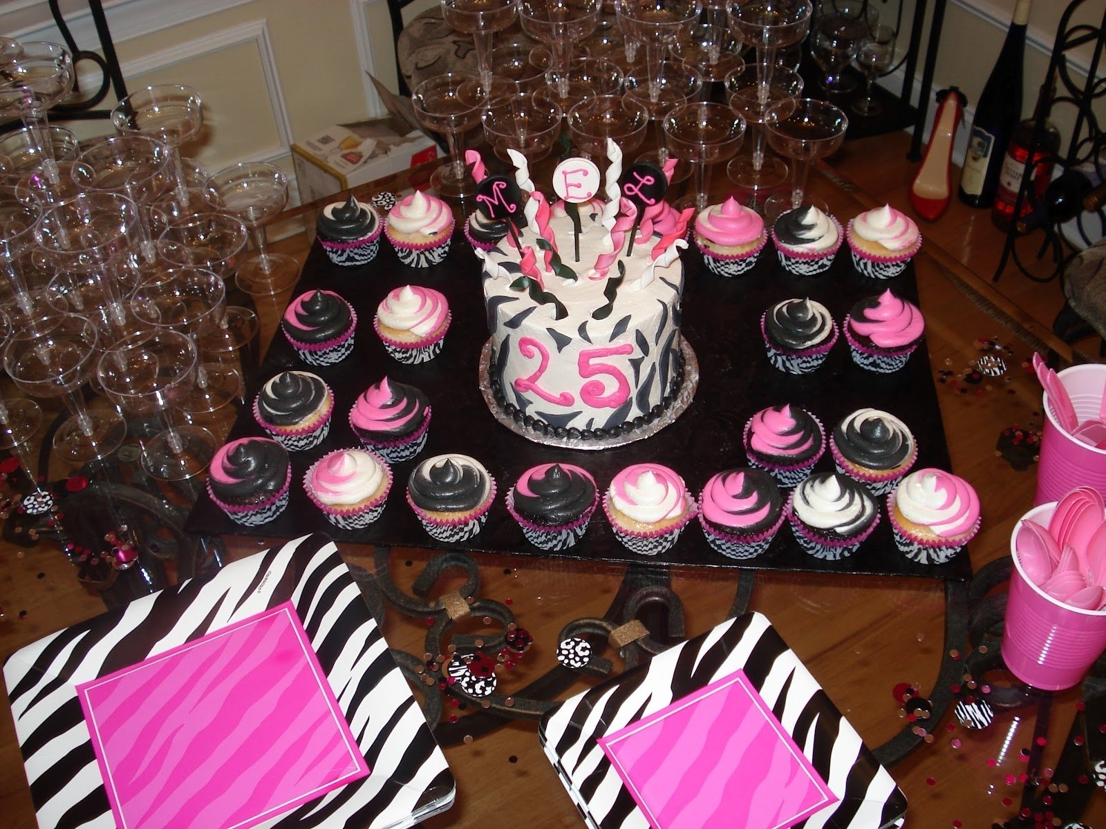 10 Unique Birthday Dinner Ideas For Her mels surprise 25th birthday party carolina charm 3 2020