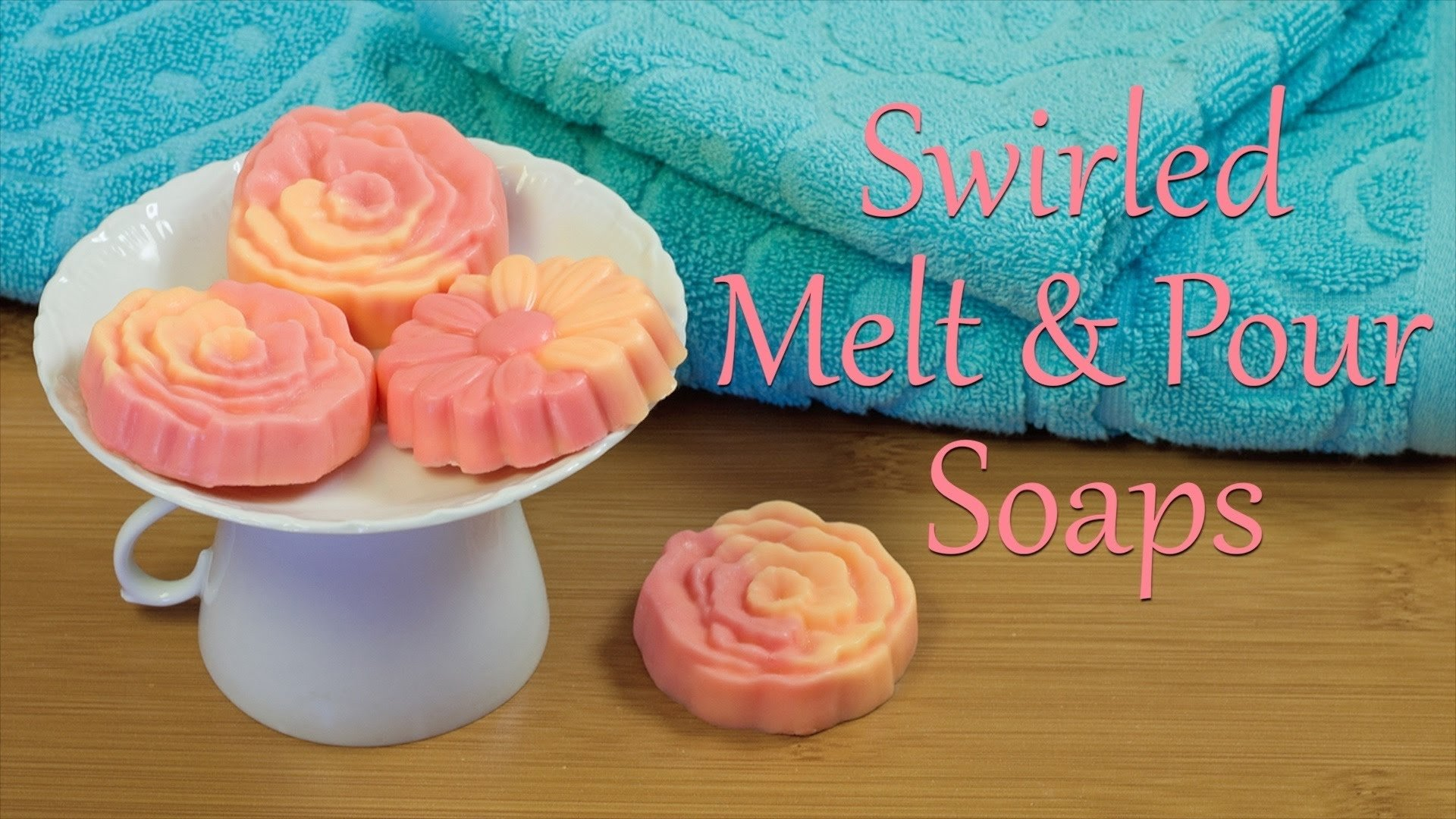 10 Nice Melt And Pour Soap Ideas melt and pour soap how to make swirled melt and pour soaps youtube 2021