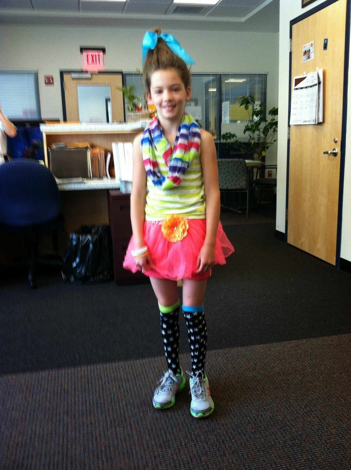 memorial school: wacky tacky day at memorial