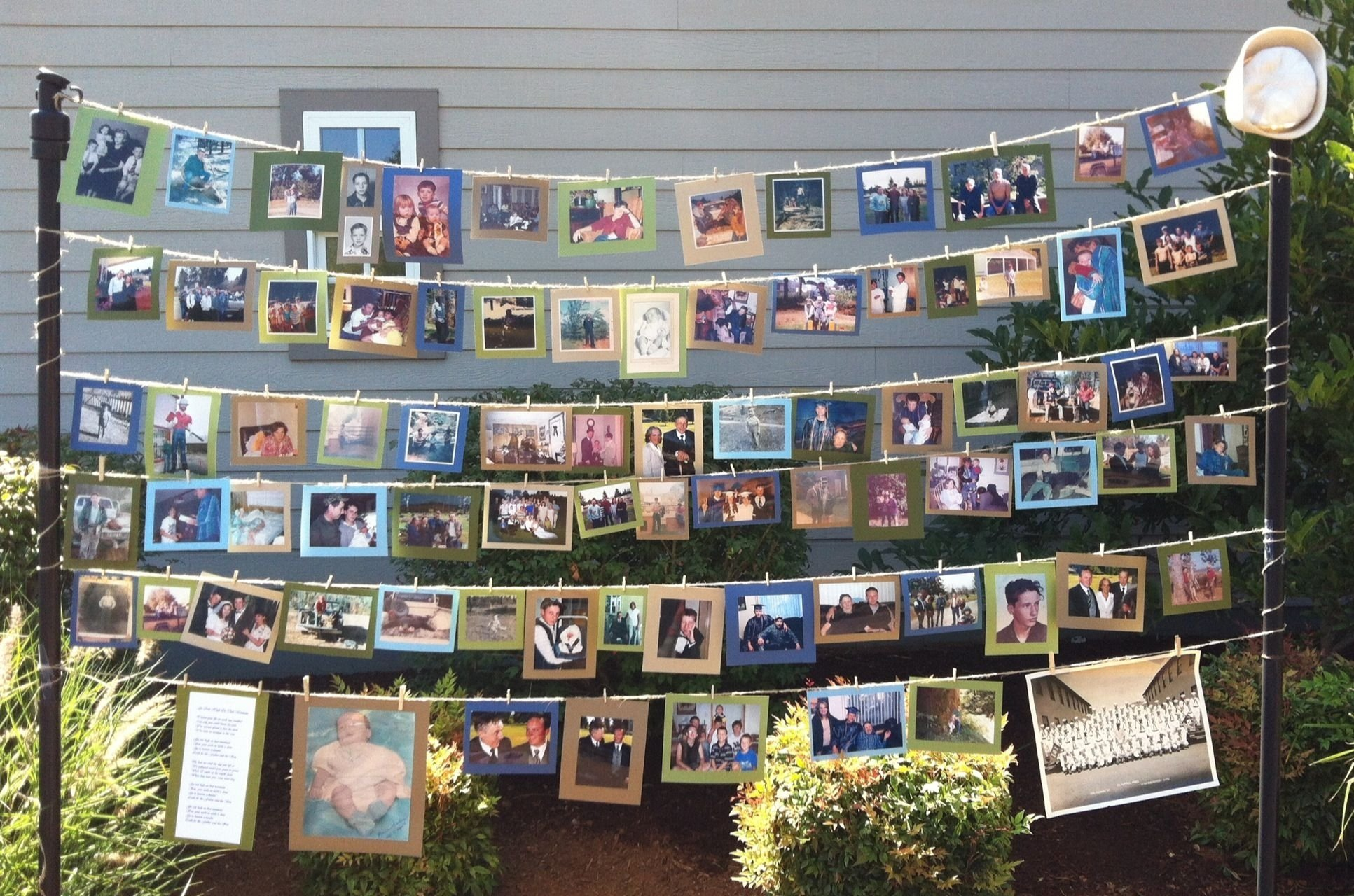 10 Most Popular Ideas For A Memorial Service memorial service photo display to be made into scrapbook after 2021