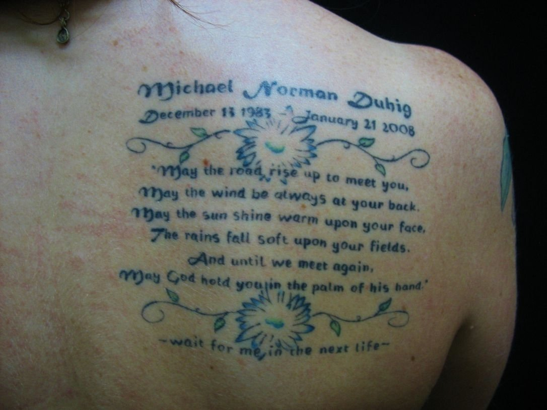 10 Ideal Tattoo Ideas For Lost Loved Ones memorial tattoos help the bereaved remember lost loved ones the star